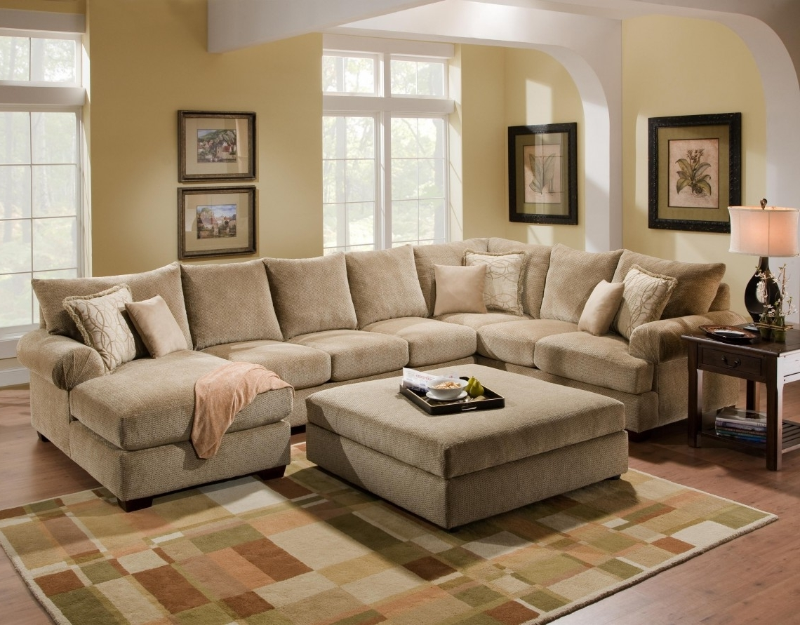 Trendy Beige Sectionals With Chaise In Small Bedroom Ideas Ikea 16 Apartment Size Leather Sofa Apartment (View 7 of 15)