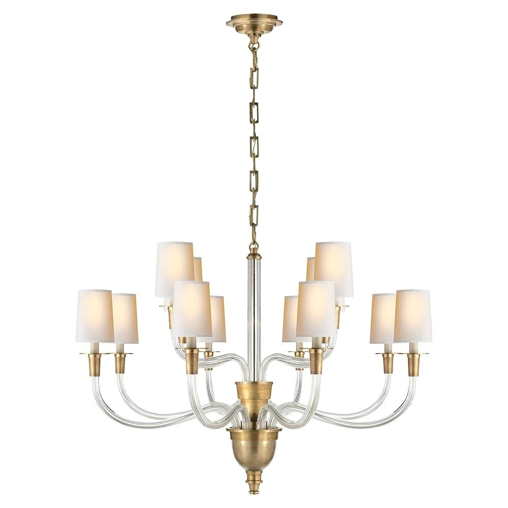 Trendy Branched Chandelier Inside Visual Comfort Chandelier Country Linear Lighting Sale (View 2 of 15)