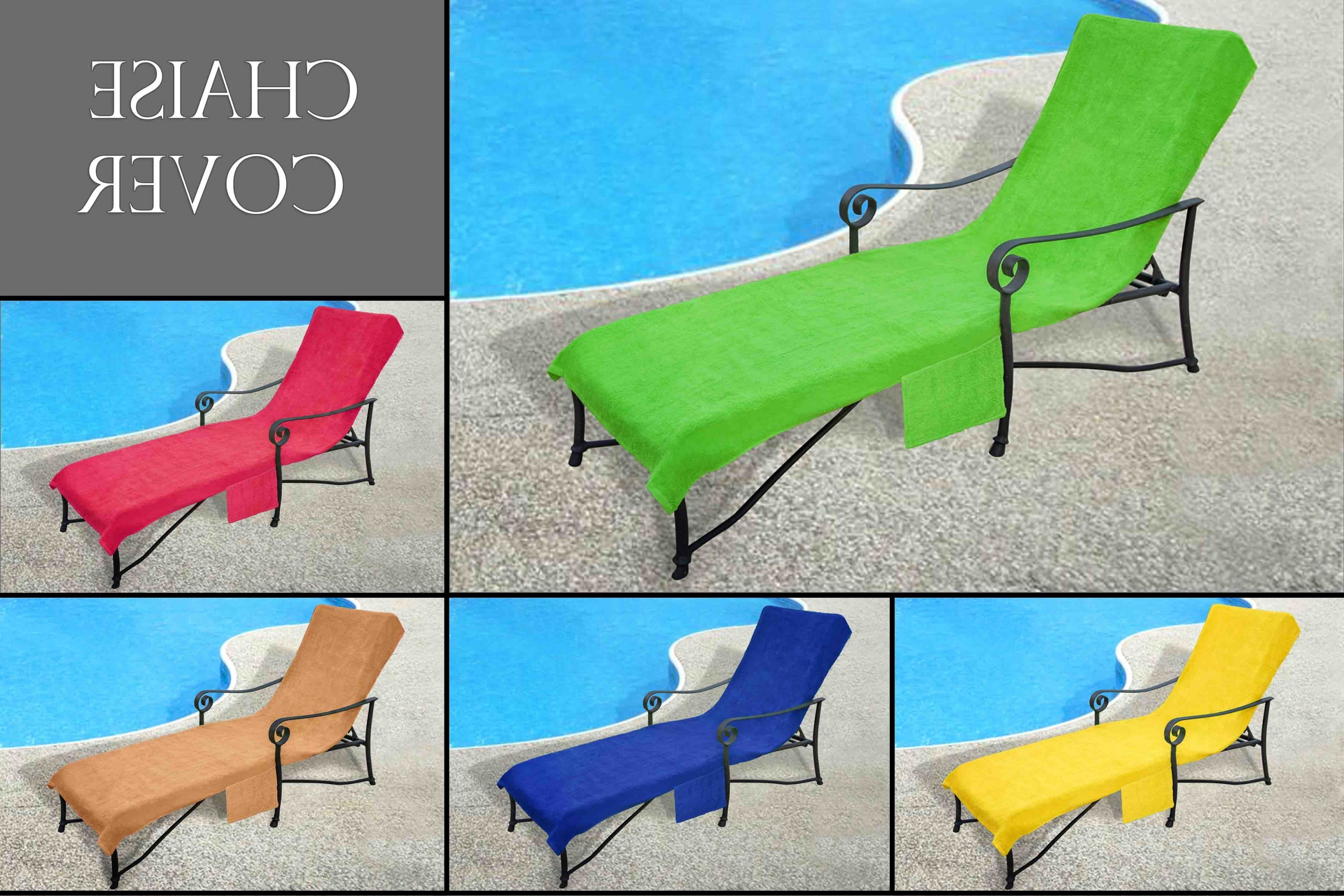 Trendy Chaise Lounge Towel Covers In Pool Side 1000 Gram Chaise Cover, Pool Lounge Chair Cover, Lawn (View 8 of 15)