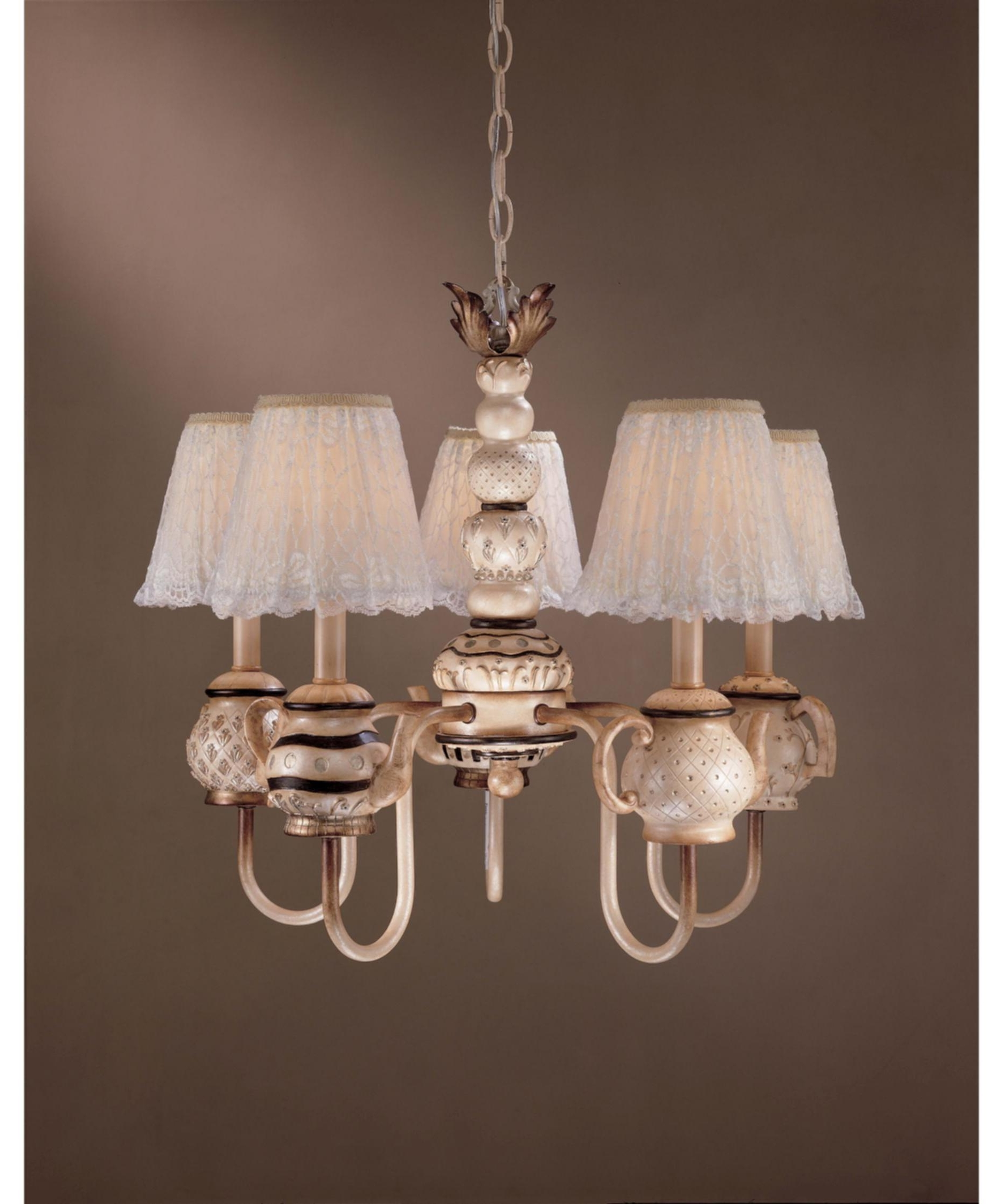Trendy Chandelier Night Stand Lamps With Chandelier Night Light (View 9 of 15)