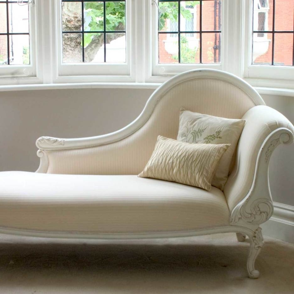 Trendy Cream Chaise Lounges For Bedroom: Excellent Interior Design Plan With Chaise Lounges For (View 11 of 15)