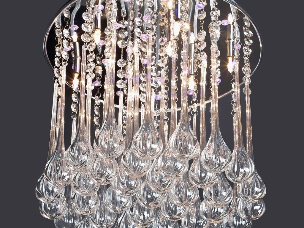 Trendy Crystal Chandelier : Awesome Cheap Crystal Chandeliers Tutorial Diy Within Cheap Faux Crystal Chandeliers (View 8 of 15)