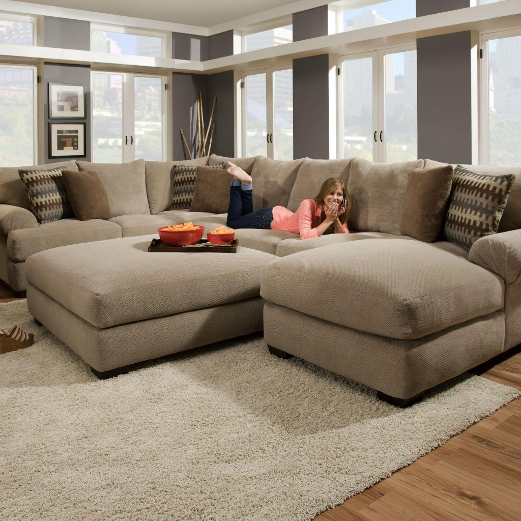 Trendy Deep Sectional Sofas With Chaise Within Most Comfortable Sectional Sofa With Chaise (View 14 of 15)
