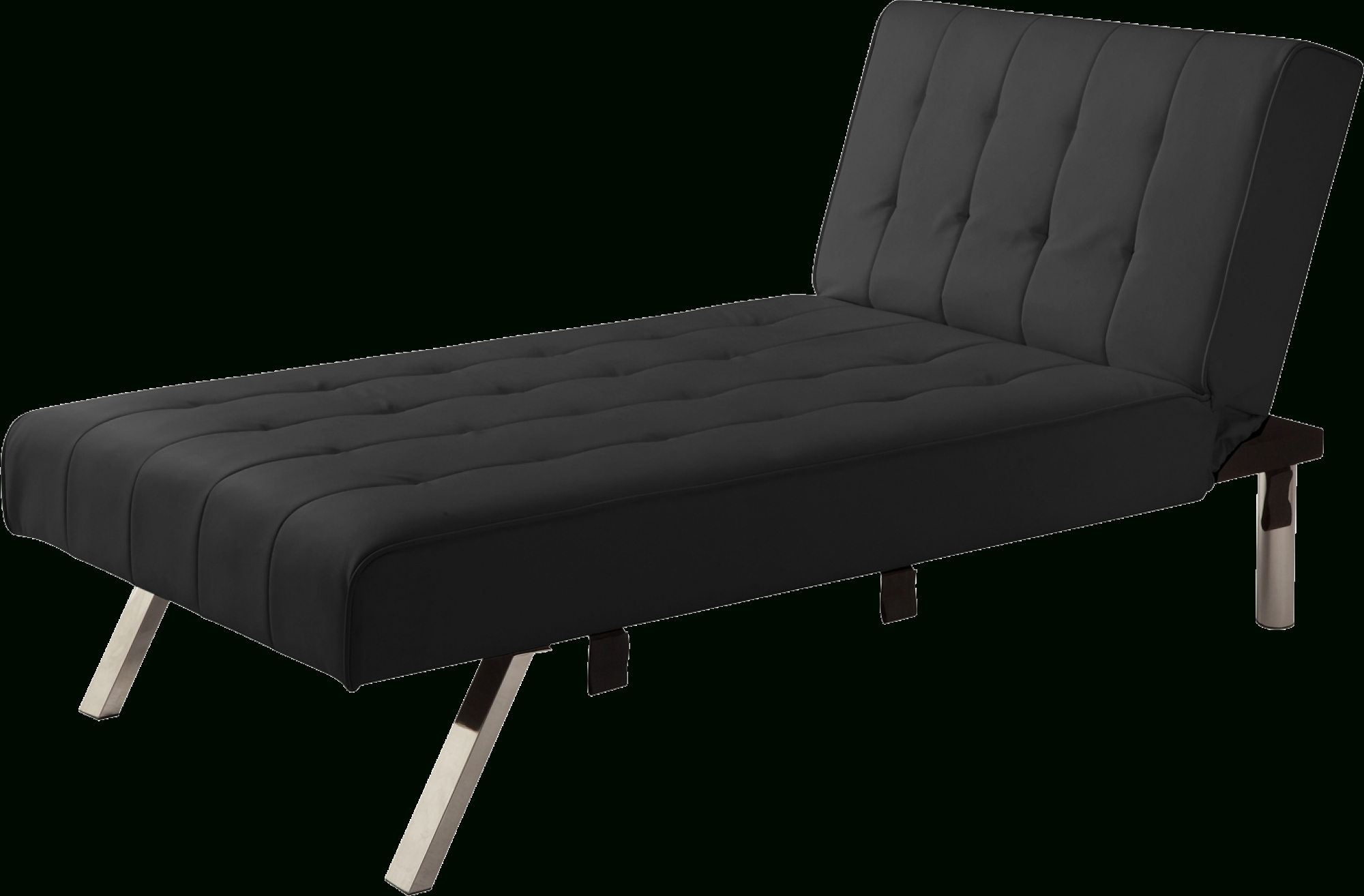 Trendy Emily Futon Chaise Loungers Inside Dhp Emily Futon Chaise Lounger, Multiple Colors – Walmart (View 11 of 15)
