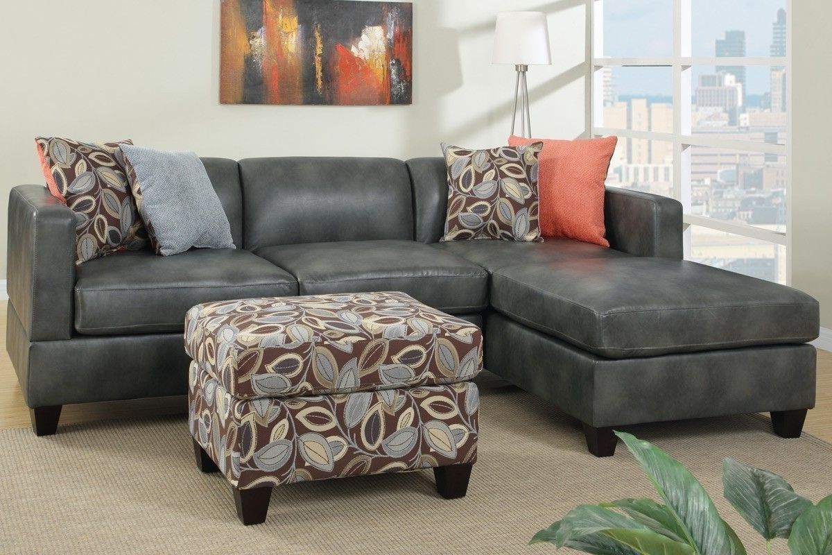 Trendy Faux Leather Couch (View 13 of 15)