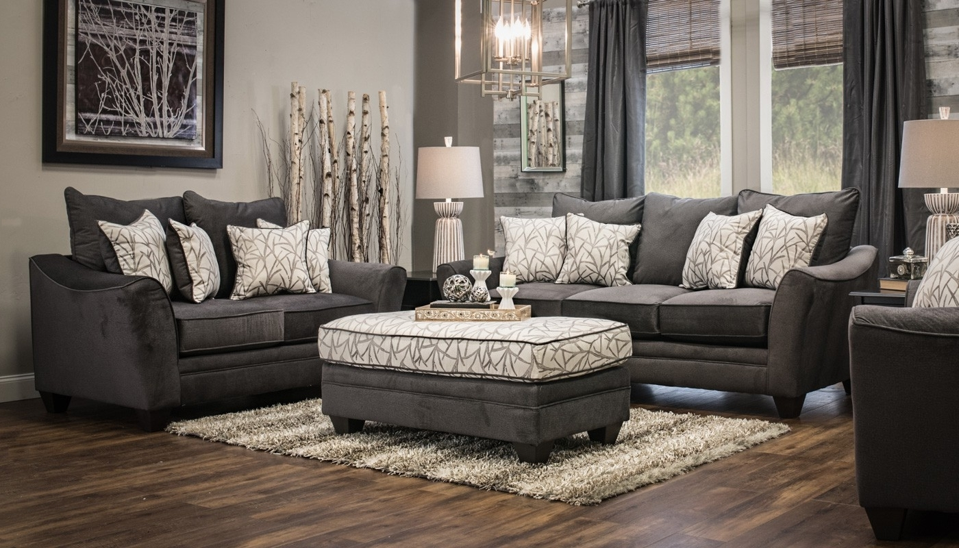 Trendy Furniture: Home Zone Furniture Ottoman Coffee Table And Grey With Regard To Home Zone Sectional Sofas (View 15 of 15)