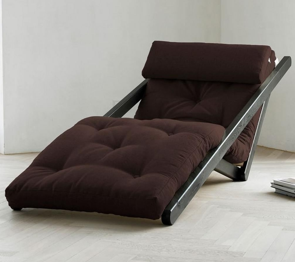 Trendy Futons With Chaise In Futon Lounger Chaise — Capricornradio Homescapricornradio Homes (View 3 of 15)