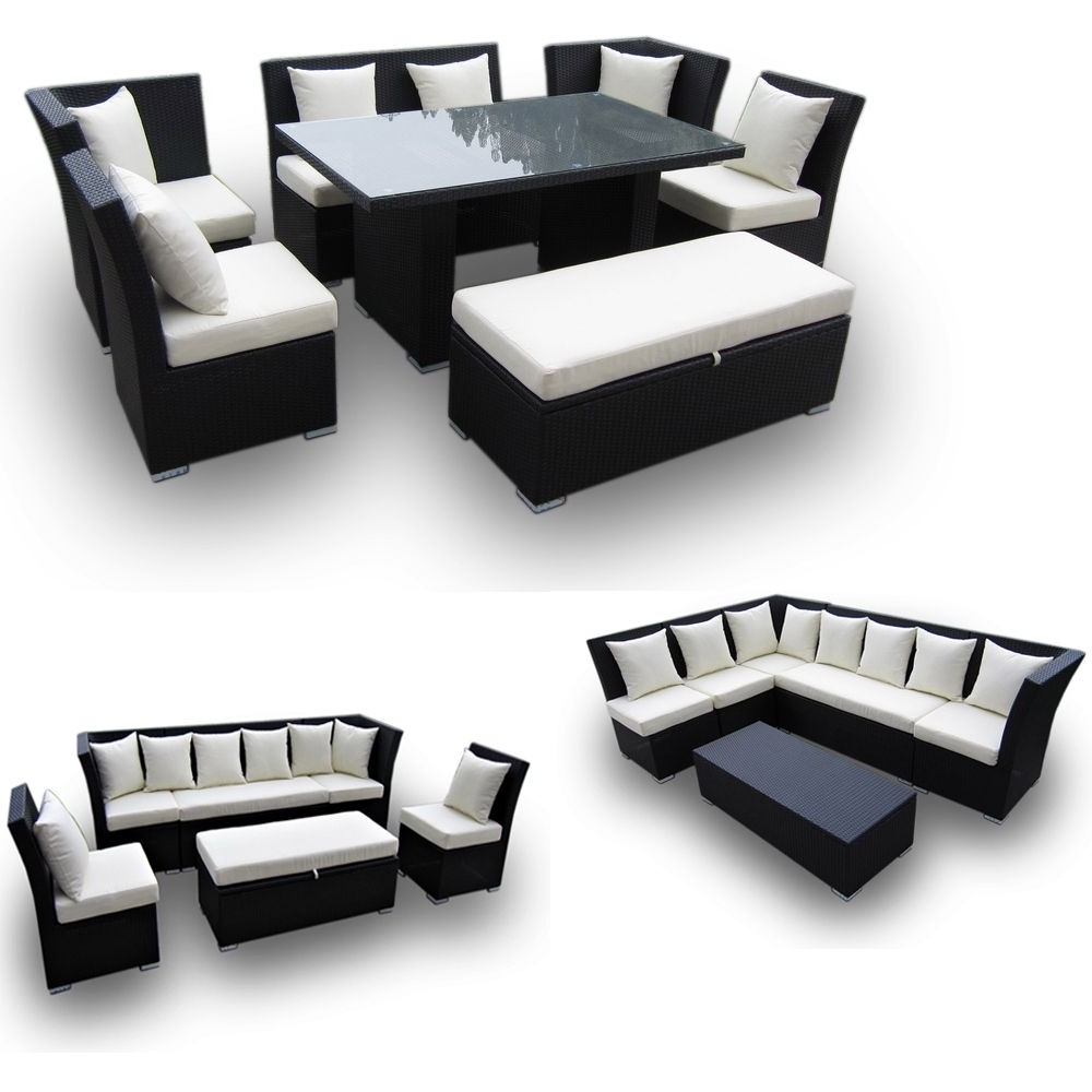 Trendy Jamaican Multipurpose Sectional Dining And Sofa Set – Great 2 For Throughout Jamaica Sectional Sofas (View 13 of 15)