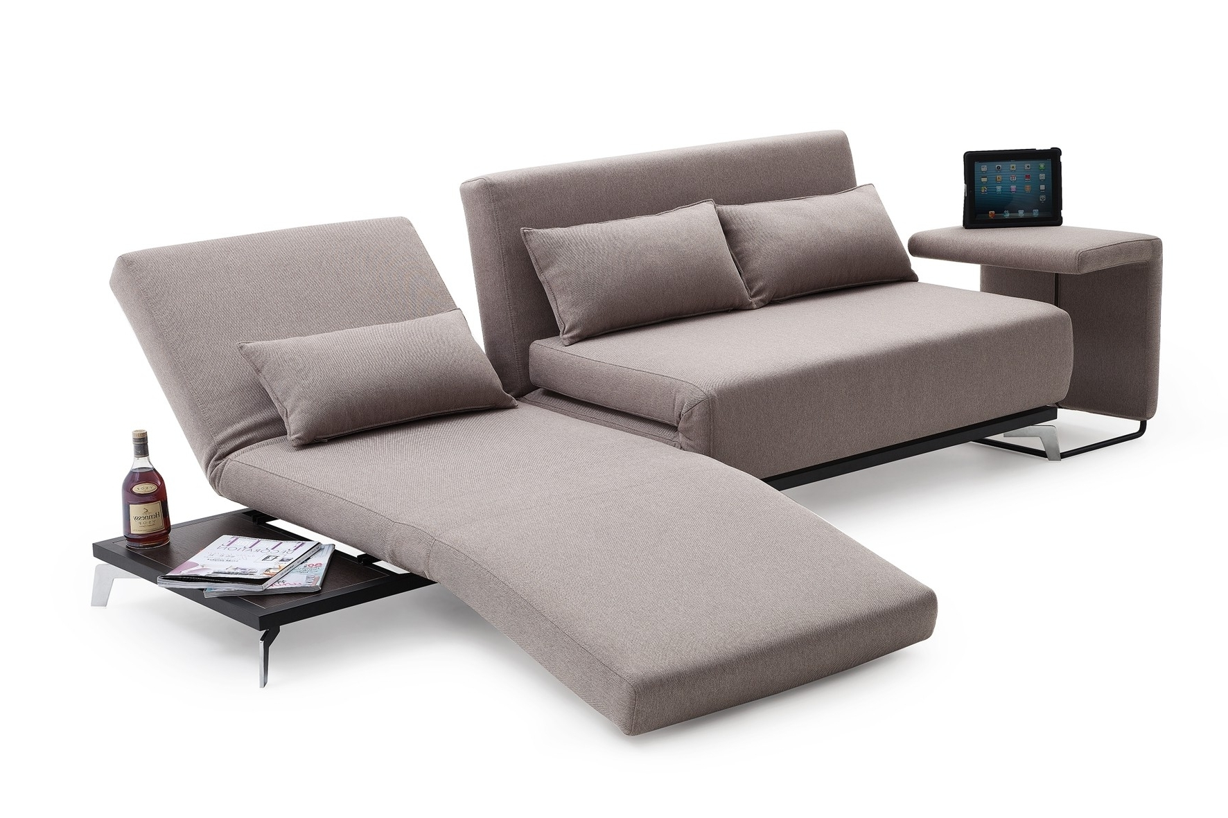 Trendy Jh033 Modern Sofa Bed For Contemporary Sofa Chairs (View 10 of 15)