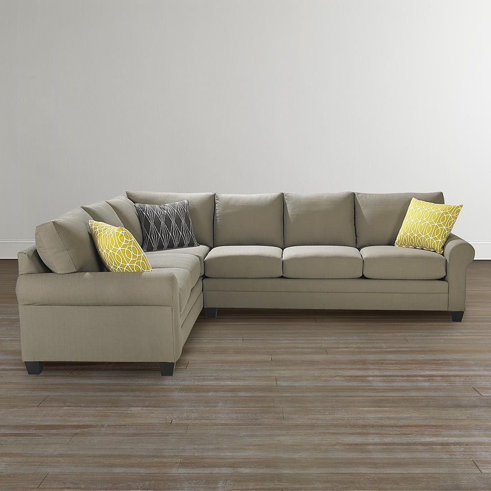Trendy L Shaped Sectional Sofa With Sectional Sofas At Bassett (View 2 of 15)