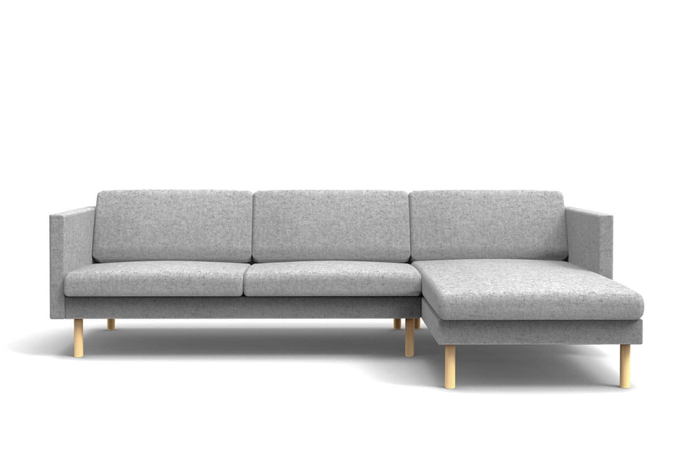 Trendy Leaf Sofa Chaise Lounge Left – Oot Oot Studio Inside Sofas With Chaise Lounge (View 13 of 15)