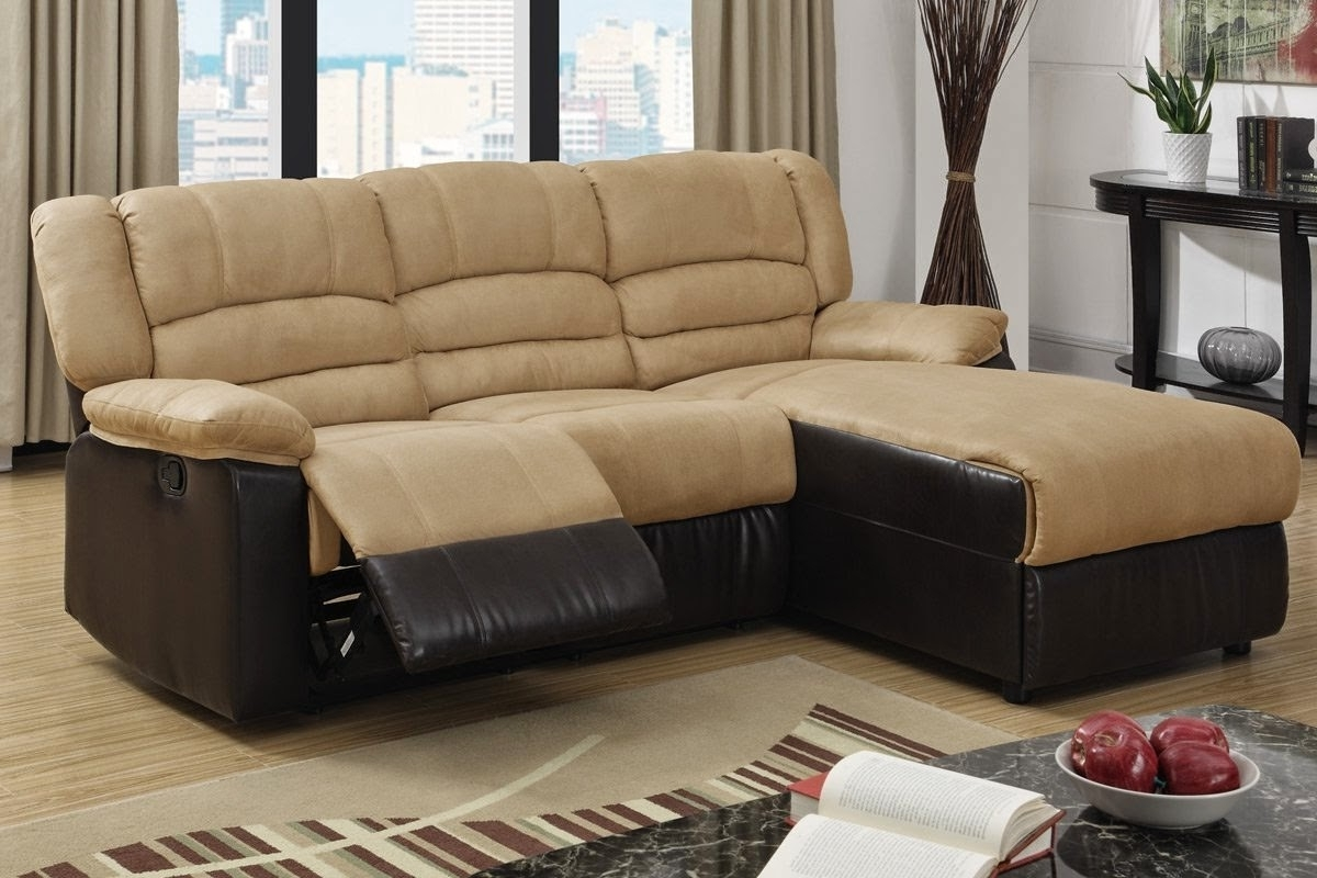 Trendy Recliner Couch: Microfiber Recliner Couch Regarding Couches With Chaise And Recliner (View 11 of 15)