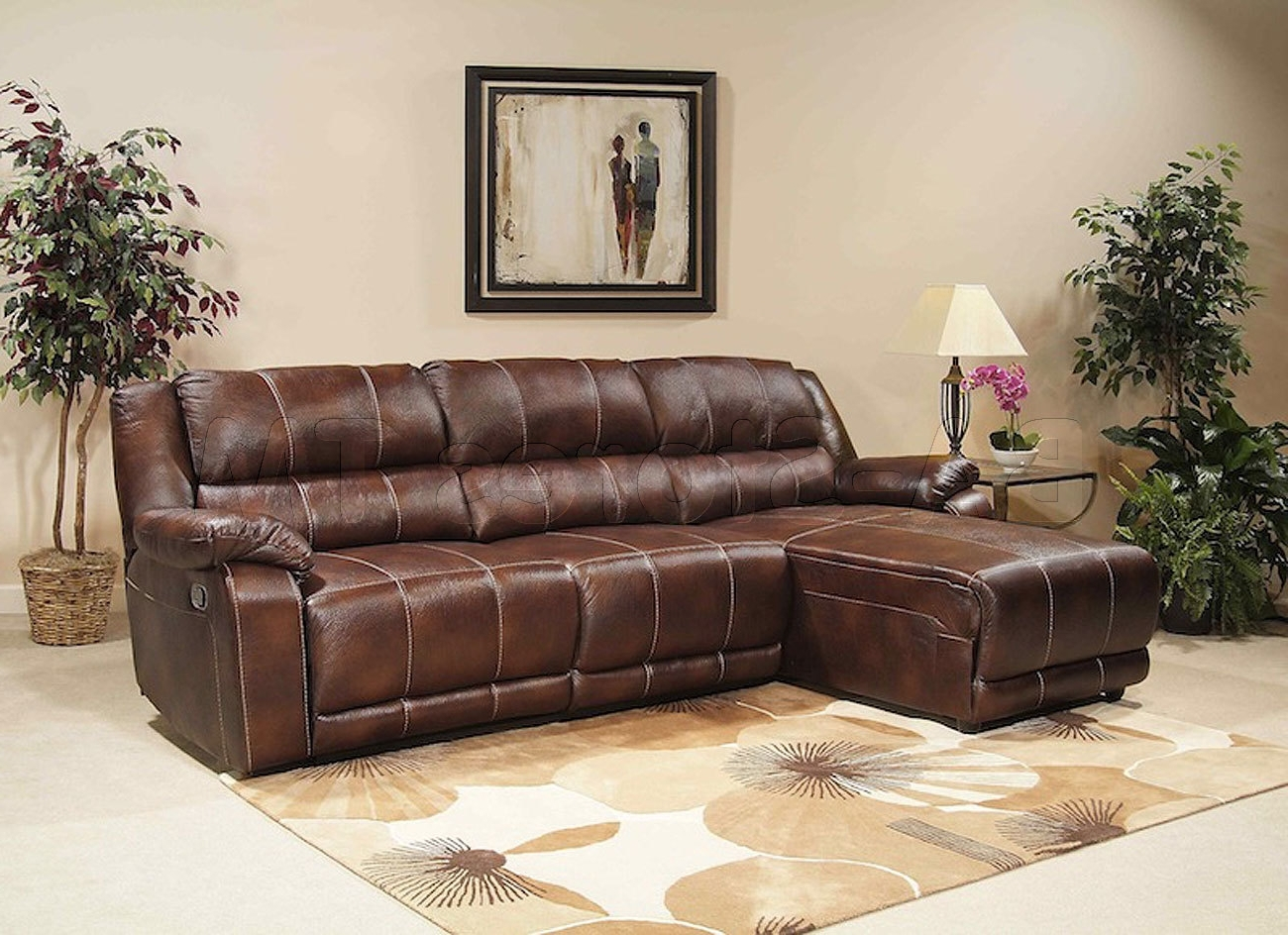 Trendy Reclining Chaises With Sectional Sofa Design: Affordabale Sectional Reclining Sofa With (View 12 of 15)