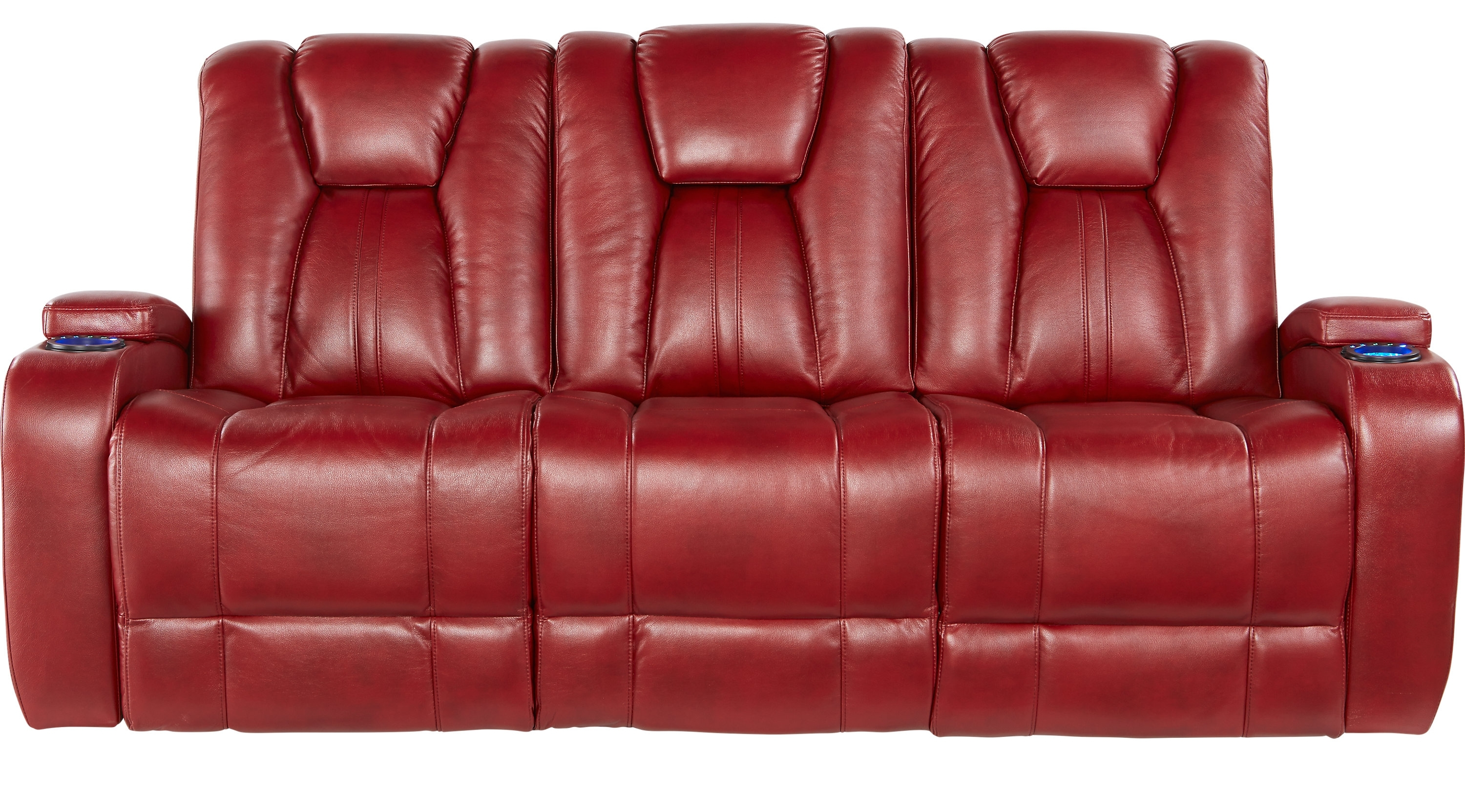 Trendy Red Leather Reclining Sofas And Loveseats Within Recliner Sofas For Sale (View 13 of 15)