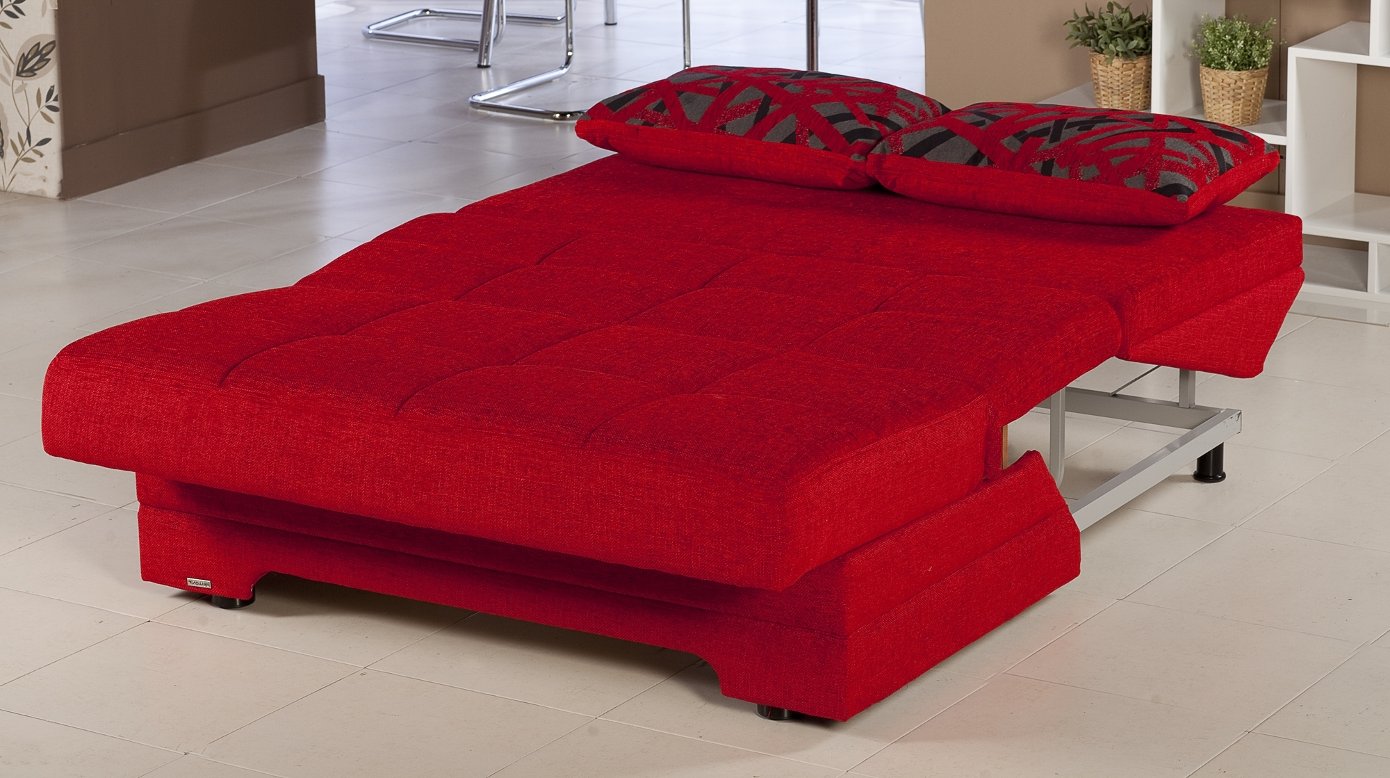 Trendy Red Sleeper Sofas For Popular Of Red Leather Sleeper Sofa Coolest Living Room Remodel (View 13 of 15)
