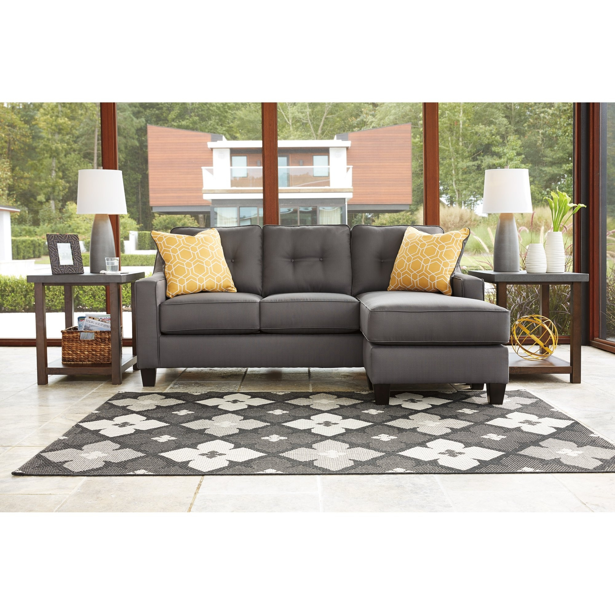 Trendy Reversible Chaise Sectional Sofas Intended For Furniture: Sofa With Movable Chaise (View 11 of 15)