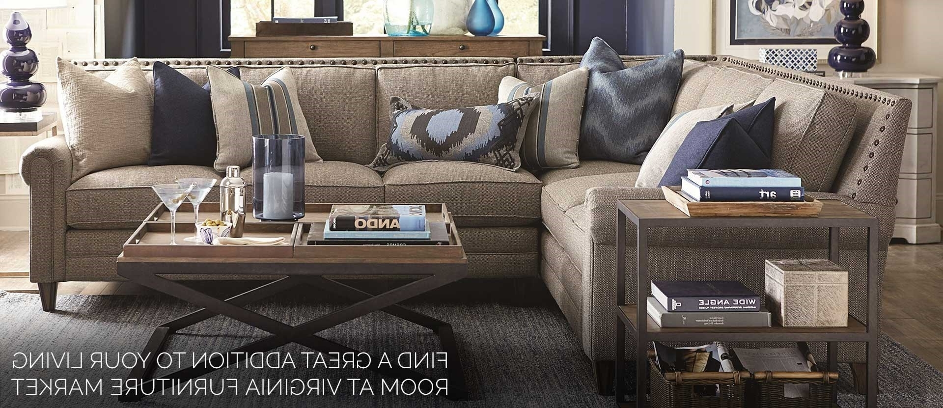 Trendy Roanoke Va Sectional Sofas Within Virginia Furniture Market (View 12 of 15)