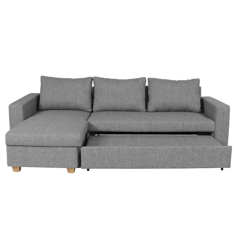 Trendy Scandy Sofa Bed In Oxford Smoke. Use As A  (View 2 of 15)