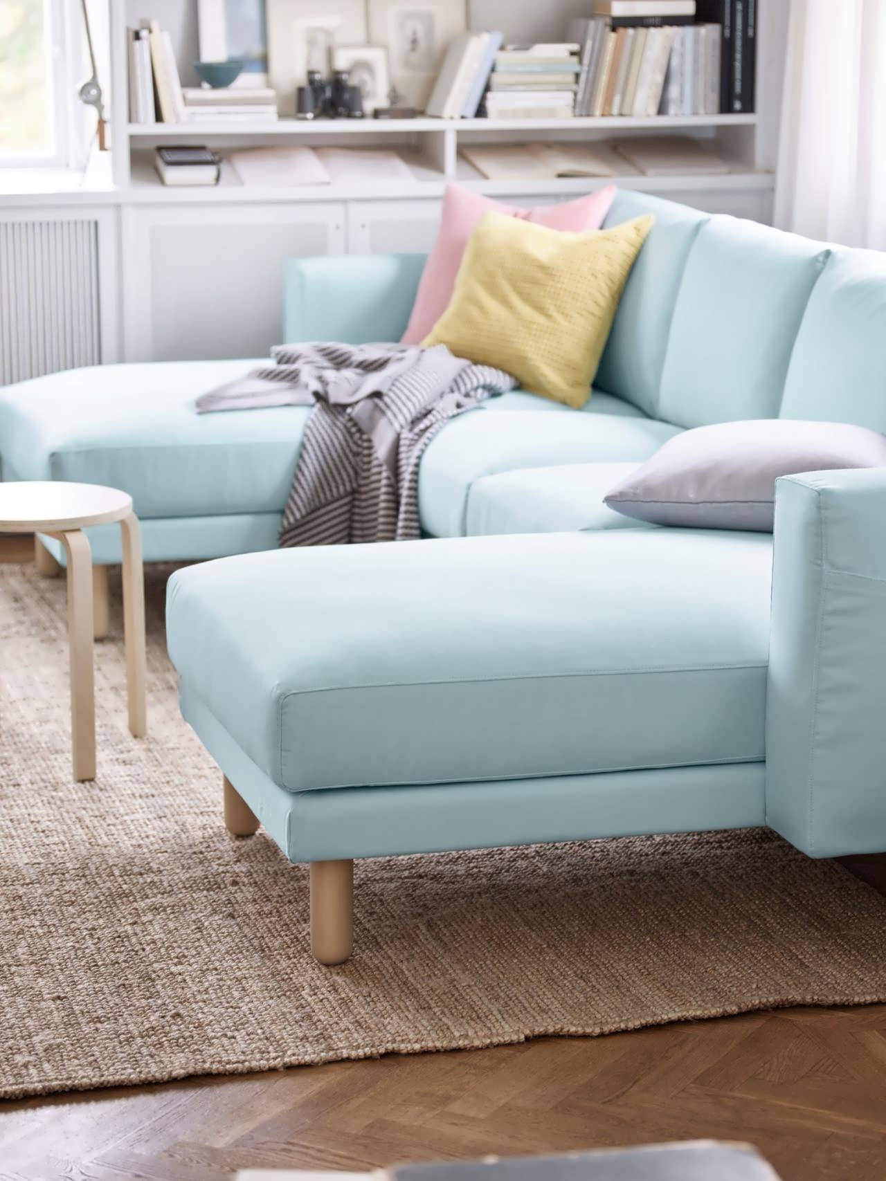 Trendy Sofa : Blue Chaise Sofa Microfiber Sectional Couch Cheap Throughout Cheap Chaise Sofas (View 11 of 15)