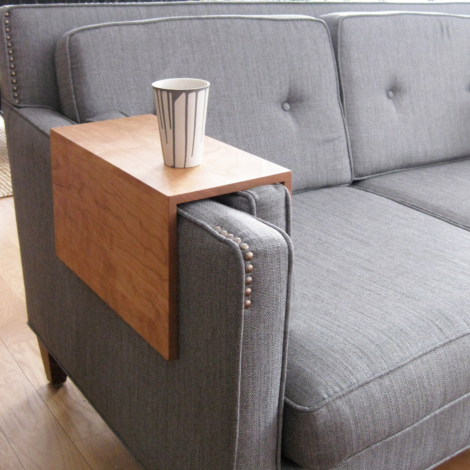 Trendy Sofa Drink Table – Home And Textiles Pertaining To Sofas With Drink Tables (View 4 of 15)