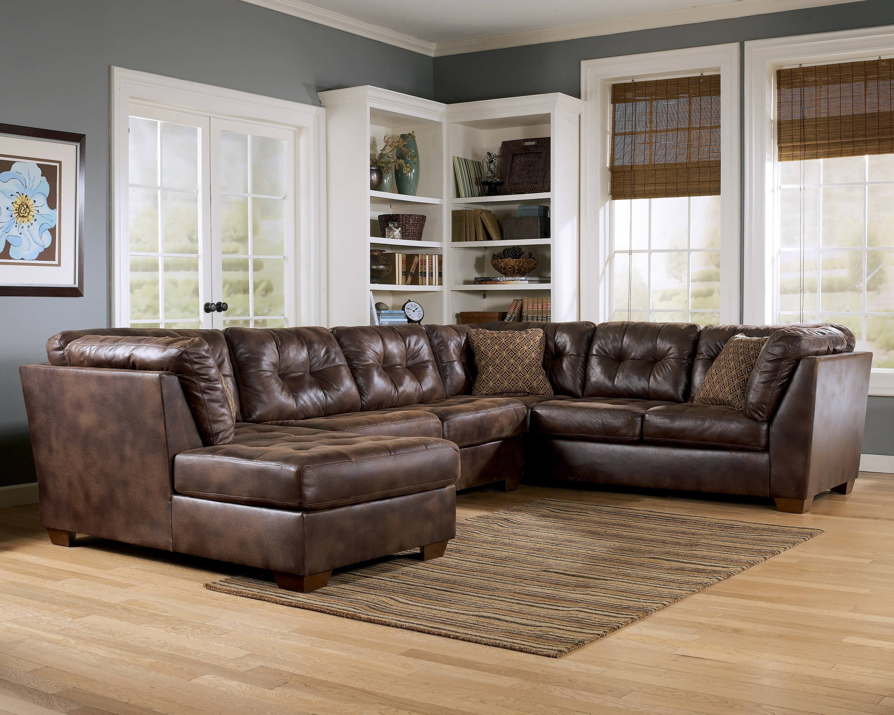 Trendy Sofa Leather Sectional Sofas Collection Of Brown Black Couch For With Regard To Memphis Tn Sectional Sofas (View 3 of 15)