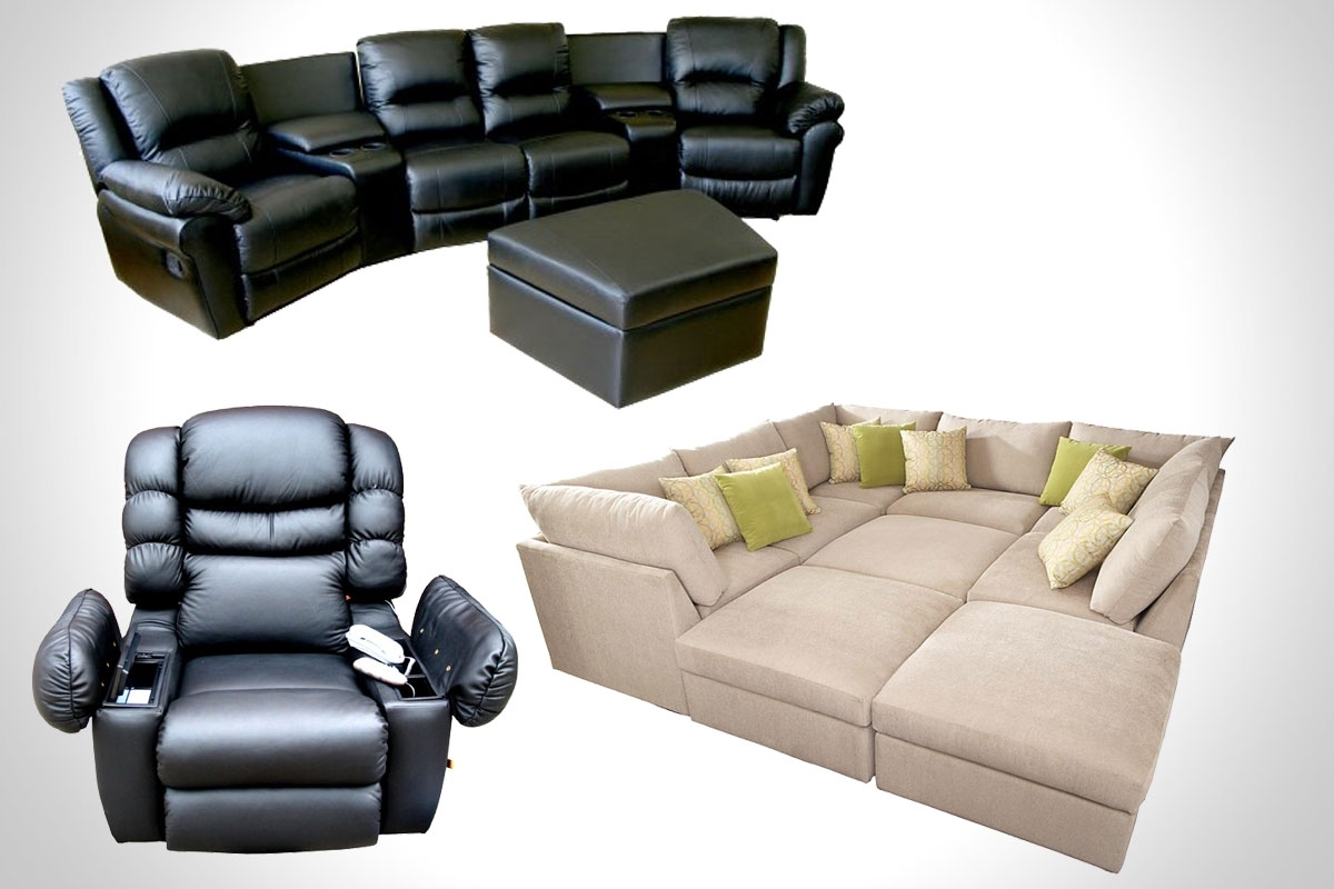 Trendy Theatre Sectional Sofas Inside Home Theater Sectional Sofa Sofas For Designs 2 – Visionexchange (View 14 of 15)