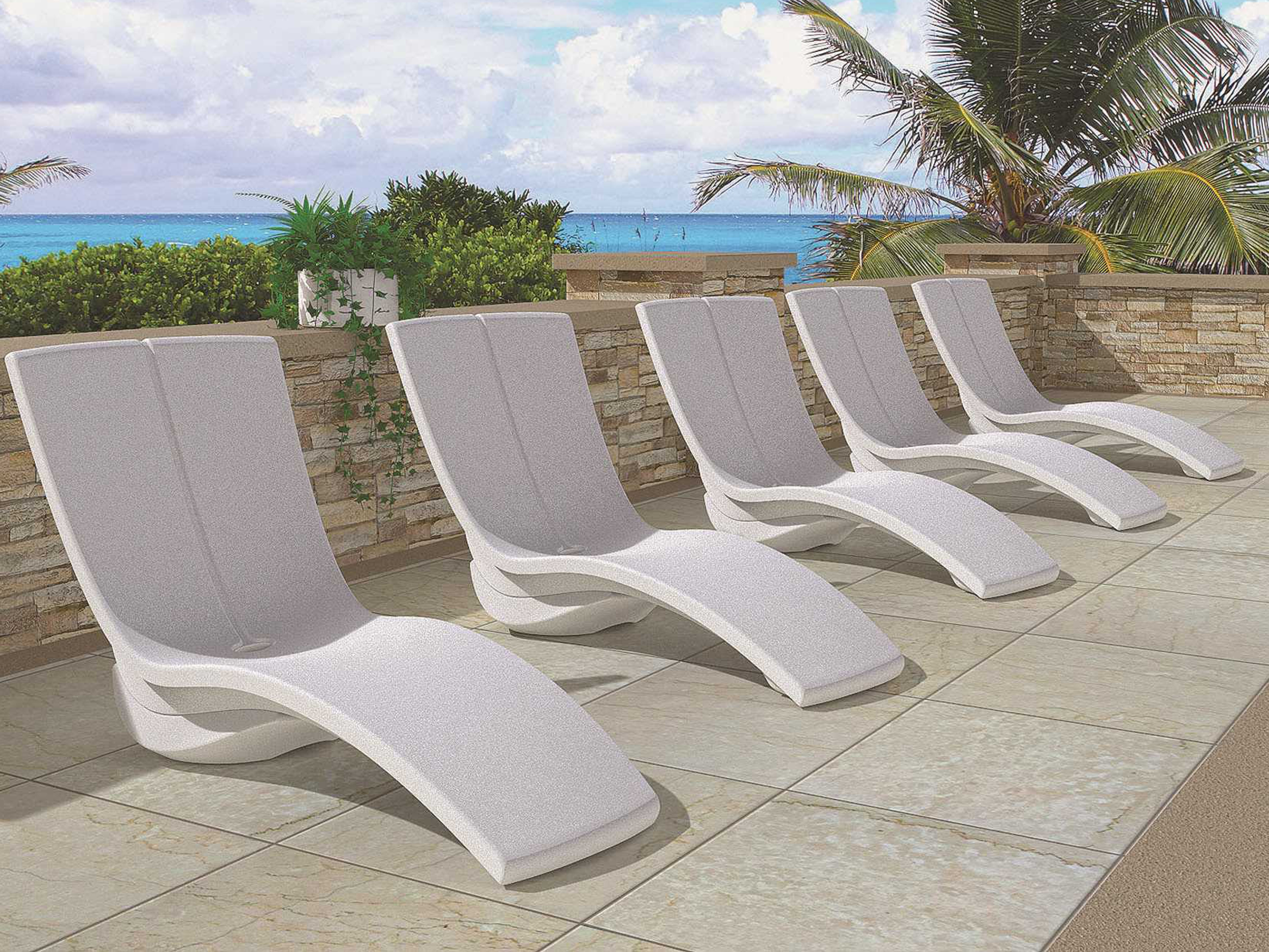 Tropitone Curve Recycled Plastic Rotoform3 Chaise Lounge With In Most Up To Date Tropitone Chaise Lounges (View 9 of 15)