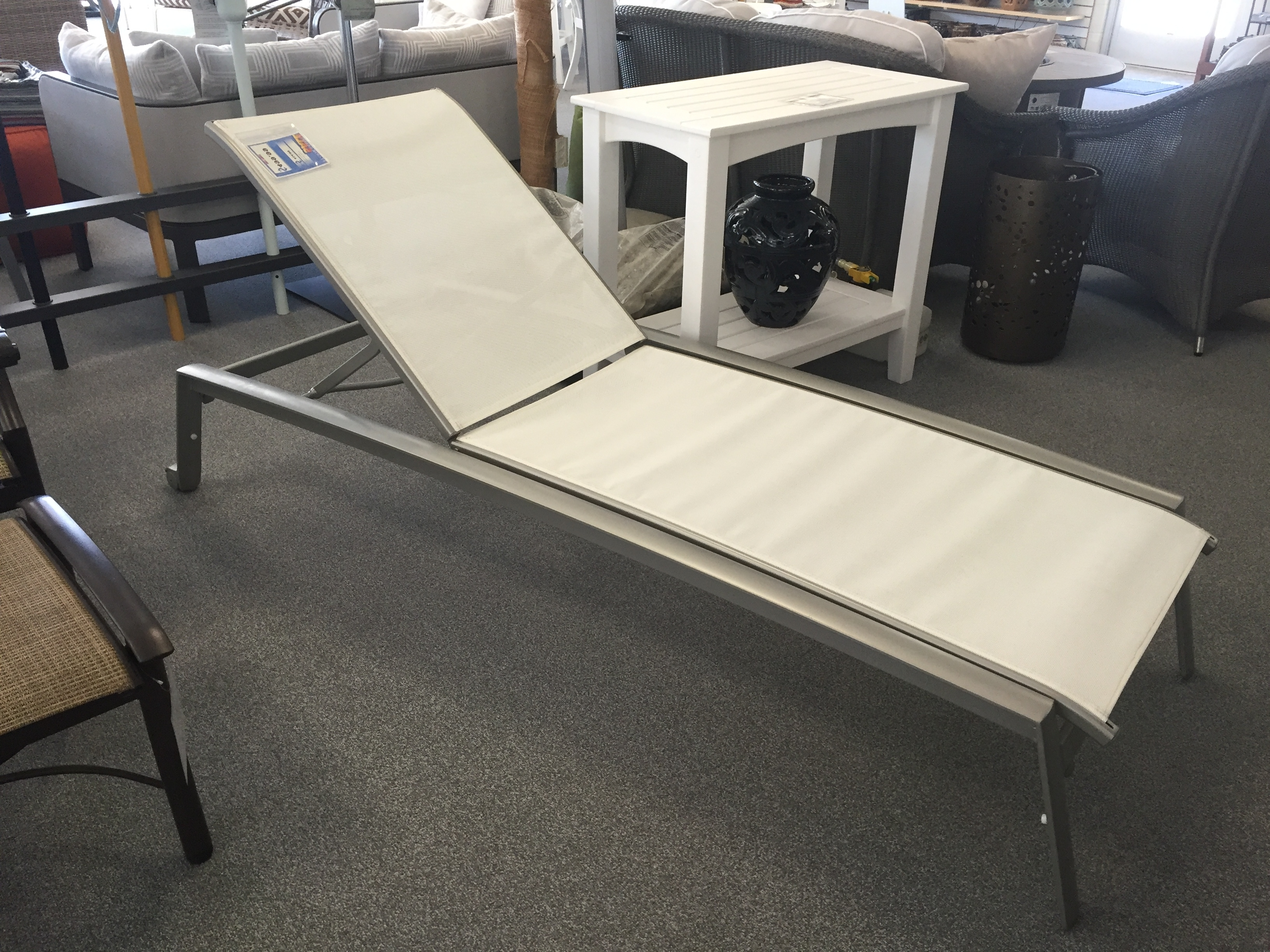 Tropitone Elance Chaise Lounge Universal Patio Furniture Studio For Latest Tropitone Chaise Lounges (View 11 of 15)