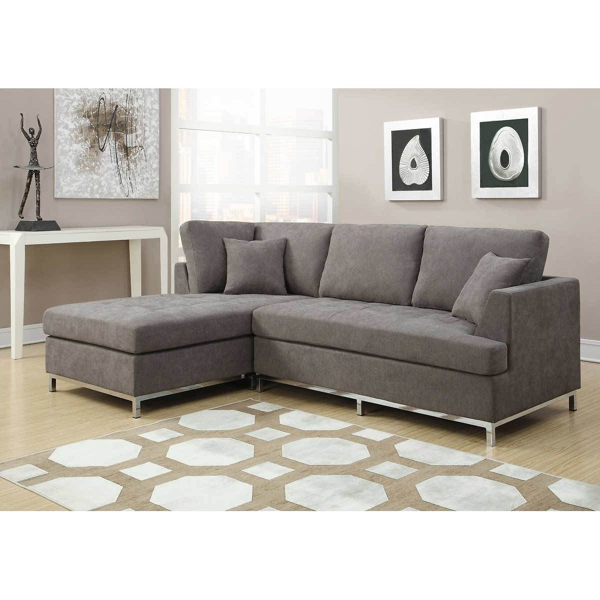Tucson Sectional Sofas With Regard To Most Up To Date Gray Sectional Sofa Costco – Home Design Ideas And Pictures (View 12 of 15)