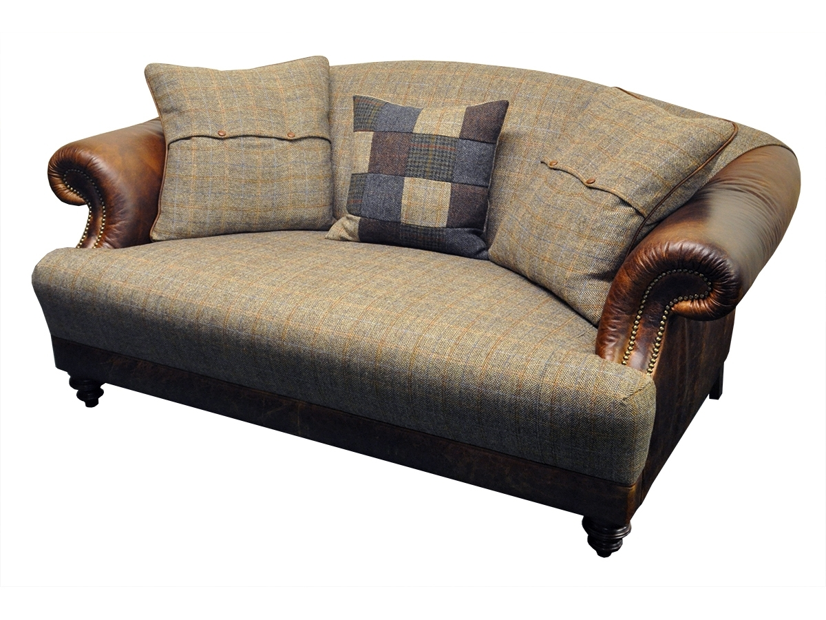 Tweed Fabric Sofas For Most Up To Date Taransay Petit Sofa – Tetrad's Harris Tweed Collection – Lpc Furniture (View 11 of 15)
