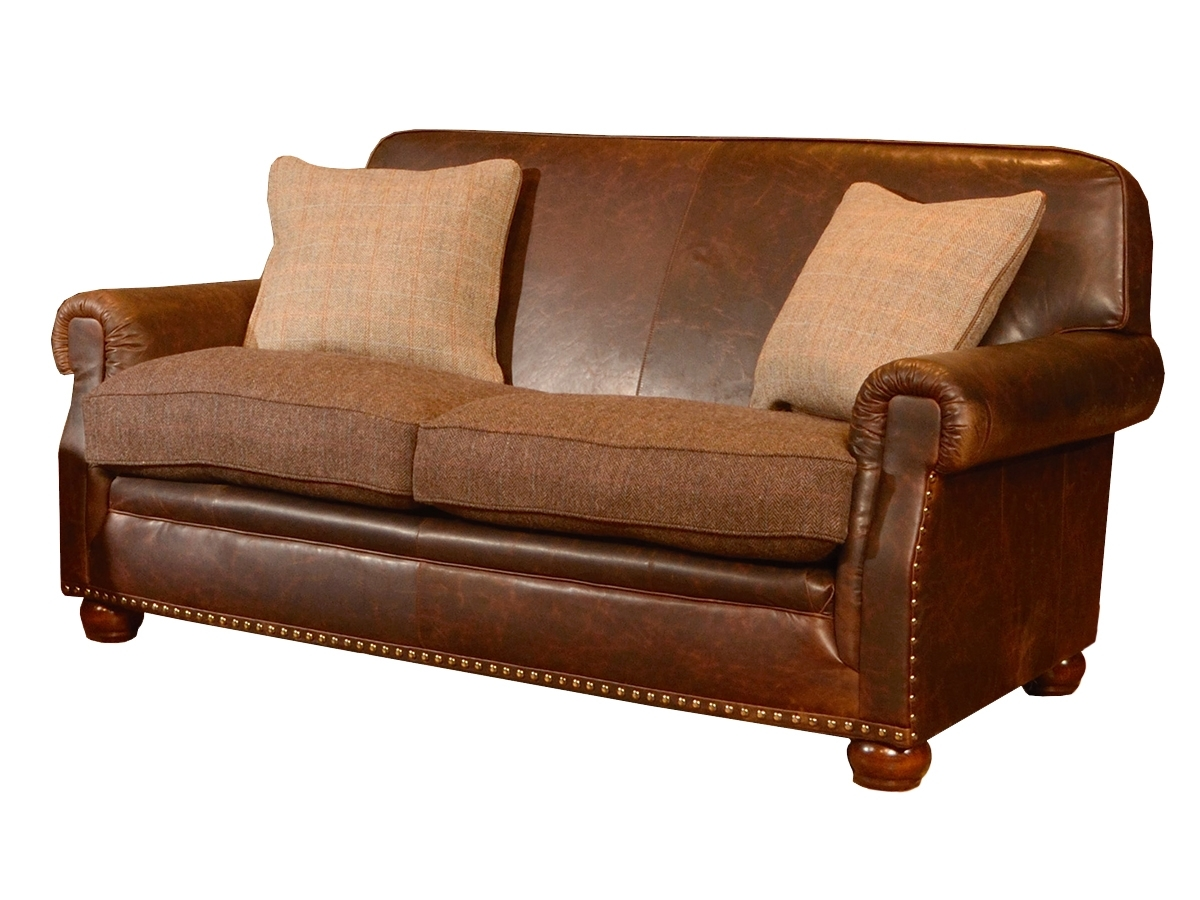 Tweed Fabric Sofas Within Favorite Stornoway Midi Sofa – Harris Tweed Collection – Lpc Furniture (View 13 of 15)