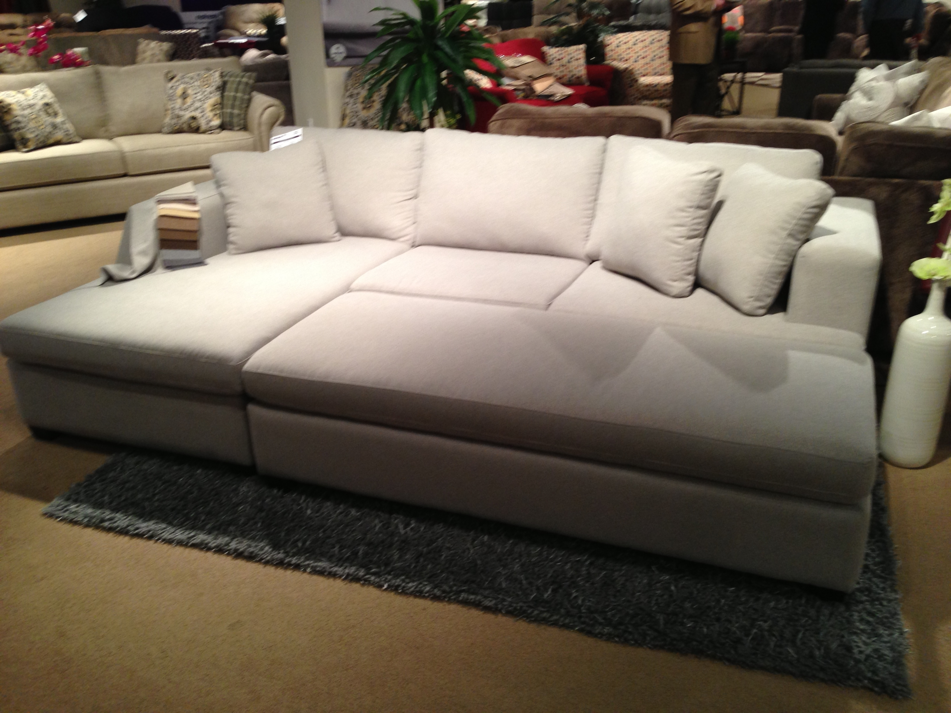 Tweetalk Intended For Sectionals With Ottoman (View 11 of 15)