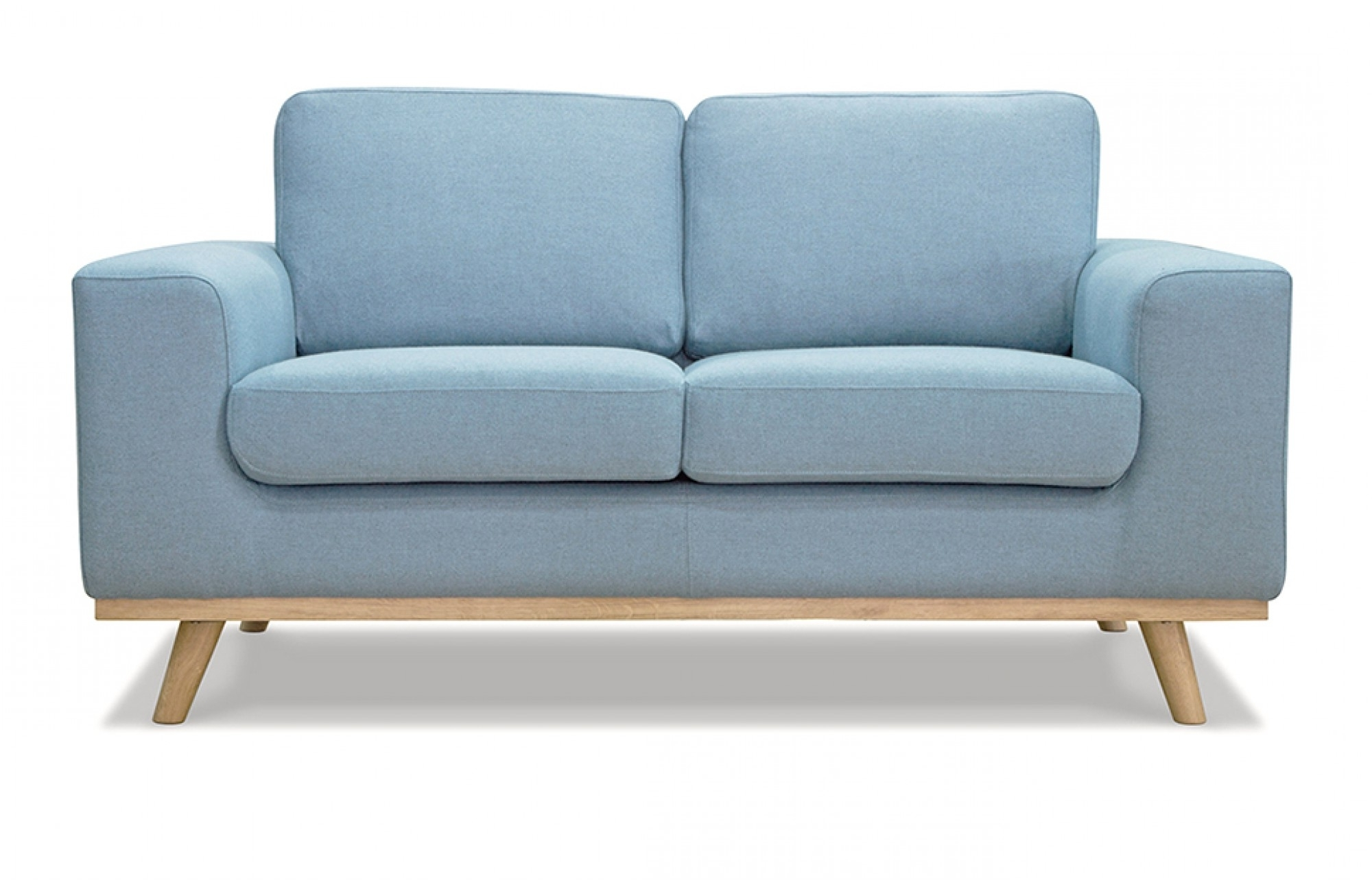 Two Seater Sofas For Current 2 Seater Blue Sofa – Lounge Furniture – Out & Out (View 14 of 15)