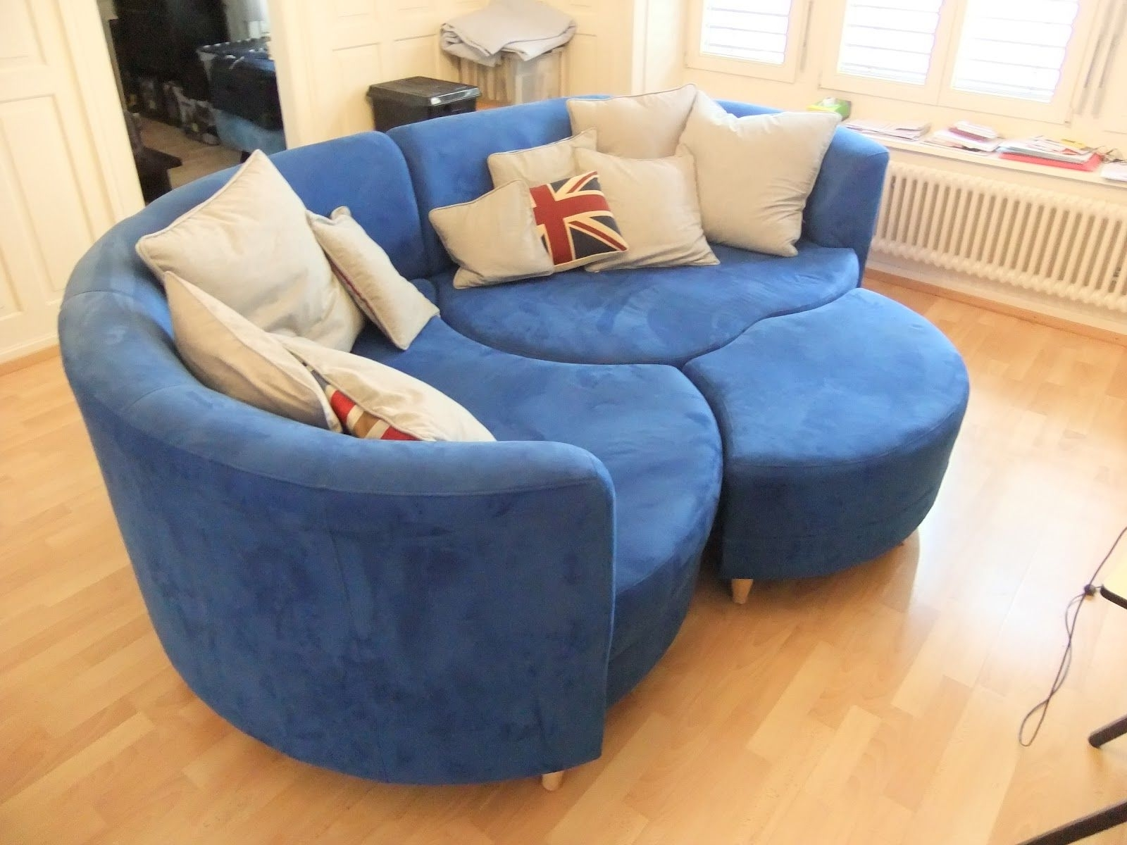 U Shaped Dark Blue Couch Leather U Shaped Sofa Sale Furniture With 2018 Blue U Shaped Sectionals (View 15 of 15)