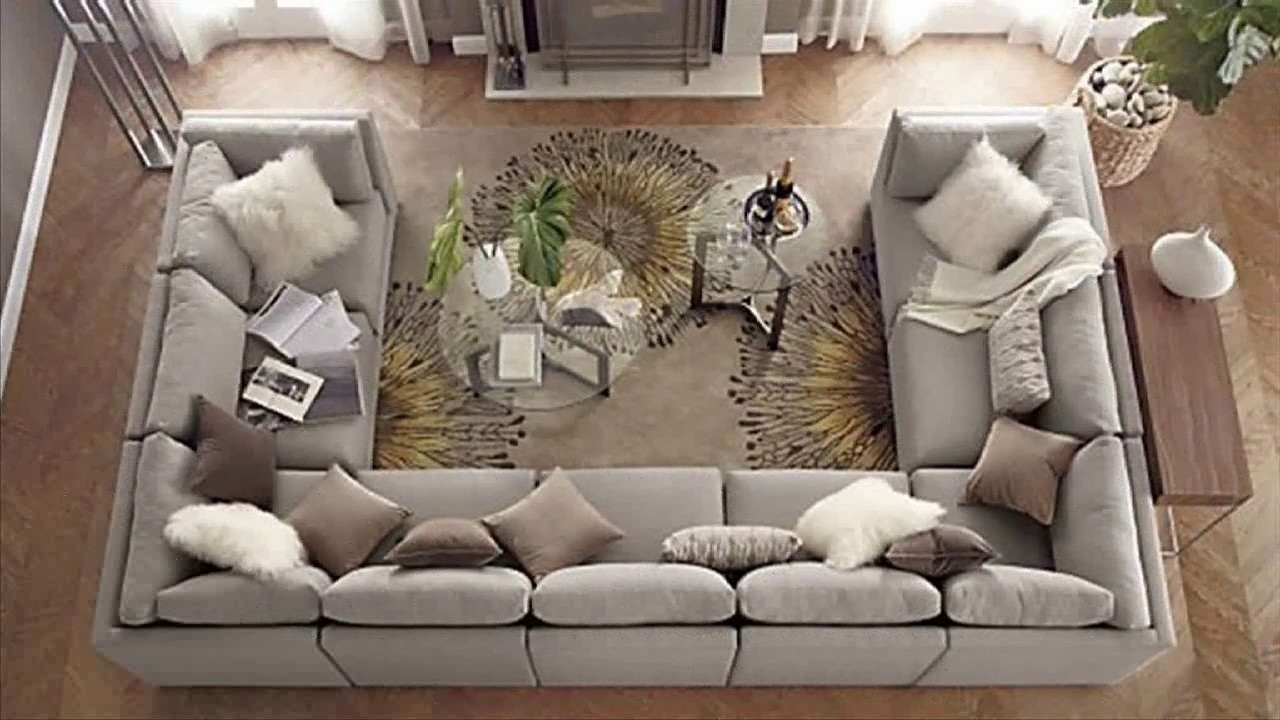 U Shaped Sectional Sofas intended for Recent Sofa : Small U Shaped Couch Ashley Furniture Sectional Couch Large