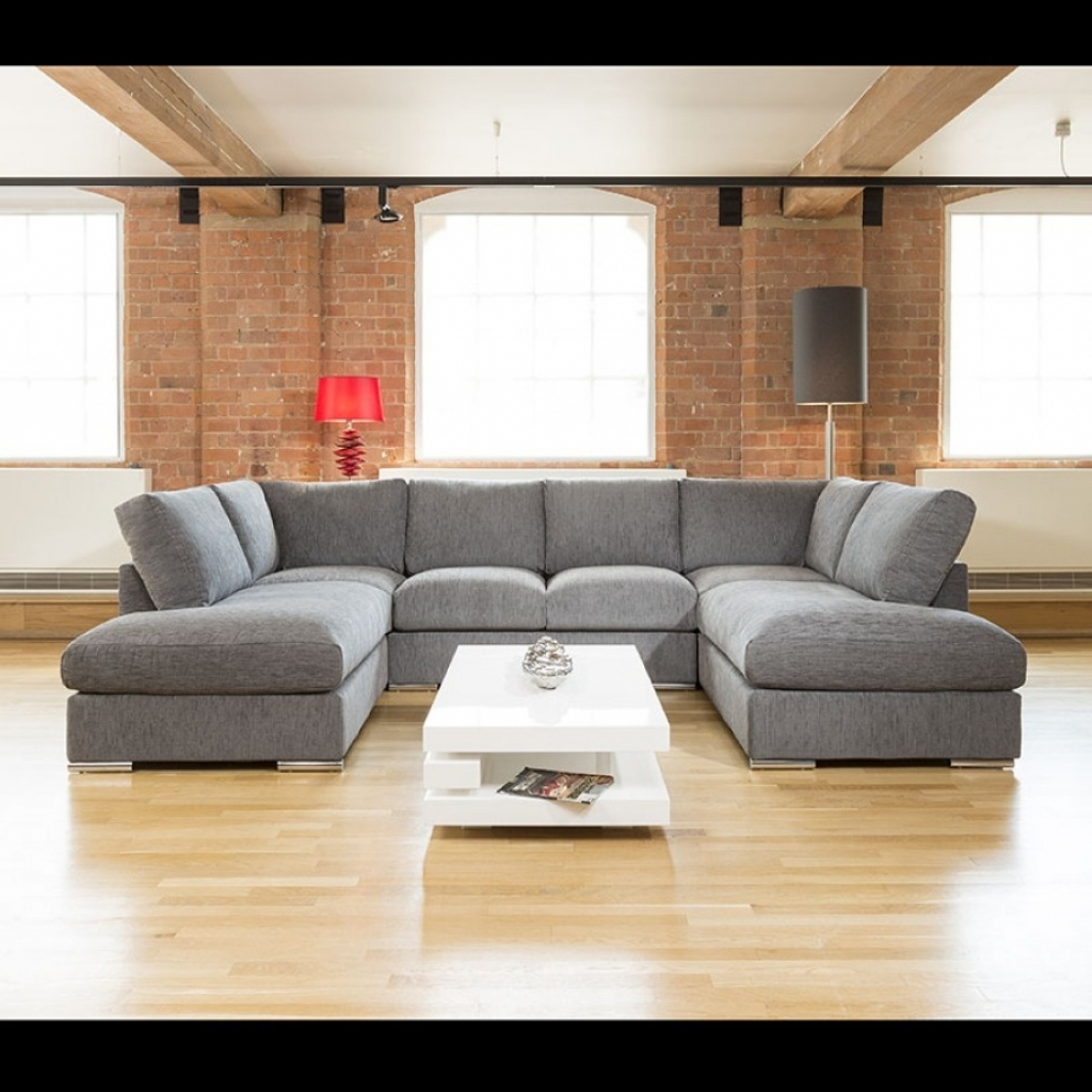 U Shaped Sectionals Inside Popular Furniture : U Shaped Sofas Sectionals Ushaped Sofa U Shaped Sofa (View 8 of 15)
