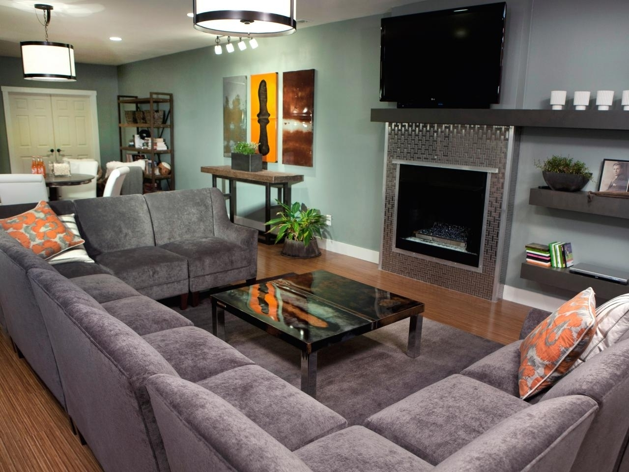 U Shaped Sectionals Pertaining To Favorite Sofa : U Shaped Sofa Sectional Has One Of The Best Kind Of Other (View 9 of 15)