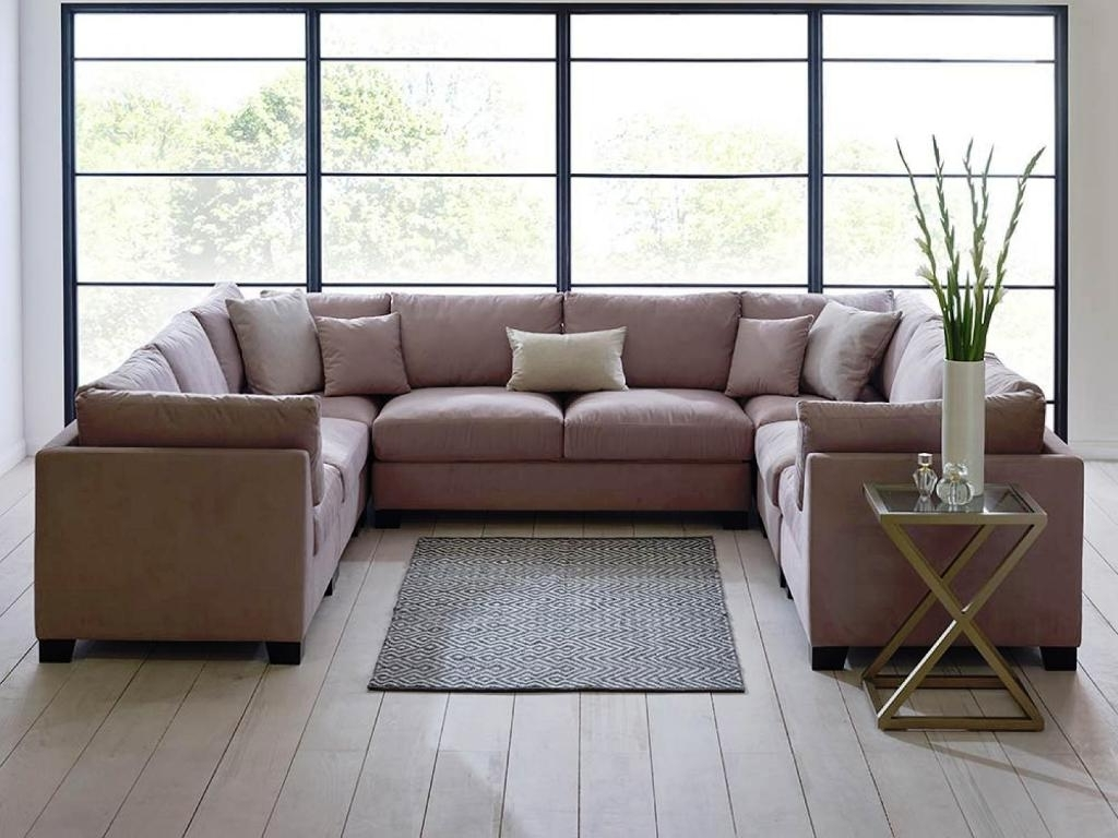 U Shaped Sectionals With Chaise inside Trendy U Shaped Sectional Double Chaise : The Ultimate U Shaped Sectional