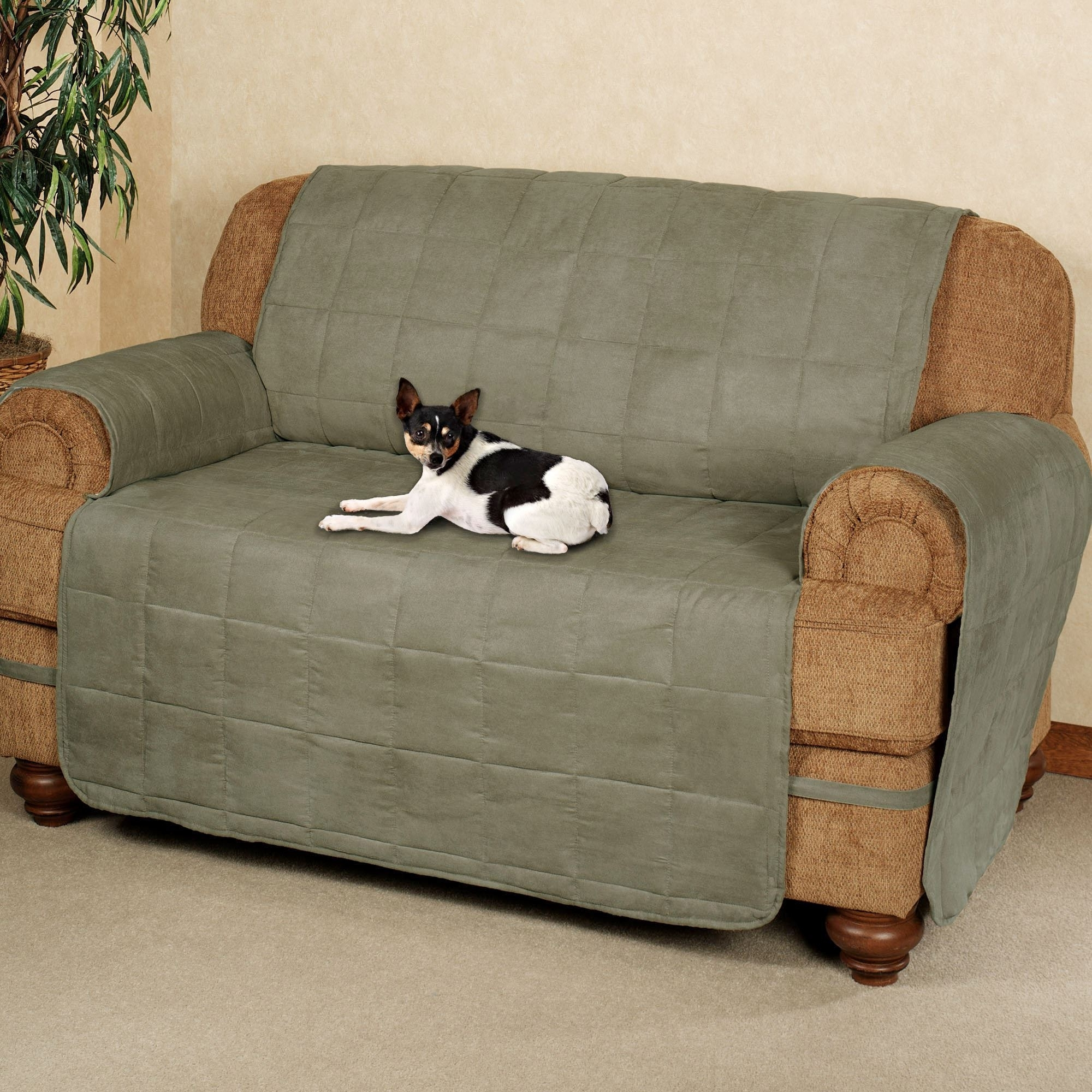 Ultimate Pet Furniture Protectors With Straps With Regard To Trendy Wide Sofa Chairs (View 7 of 15)