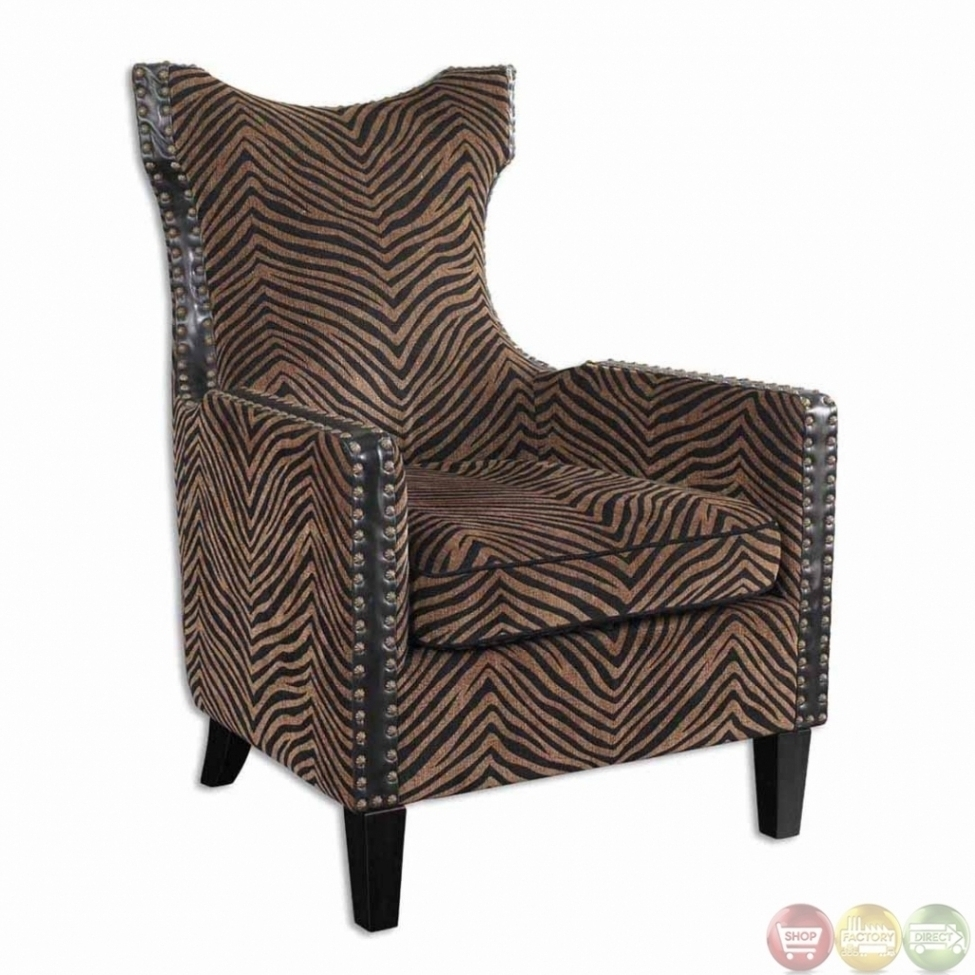 Uncategorized : Leopard Print Accent Chair Within Exquisite regarding Well-known Leopard Print Chaise Lounges