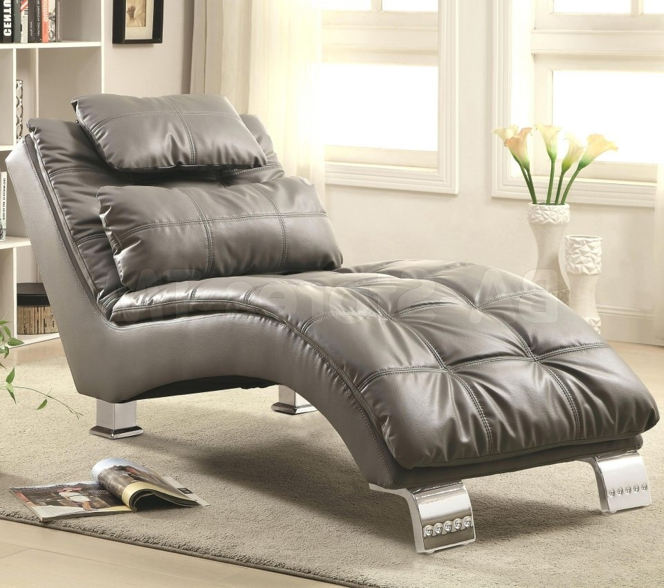 Uncategorized : Microfiber Chaise Lounge Within Finest Chaise for Current Coaster Chaise Lounges