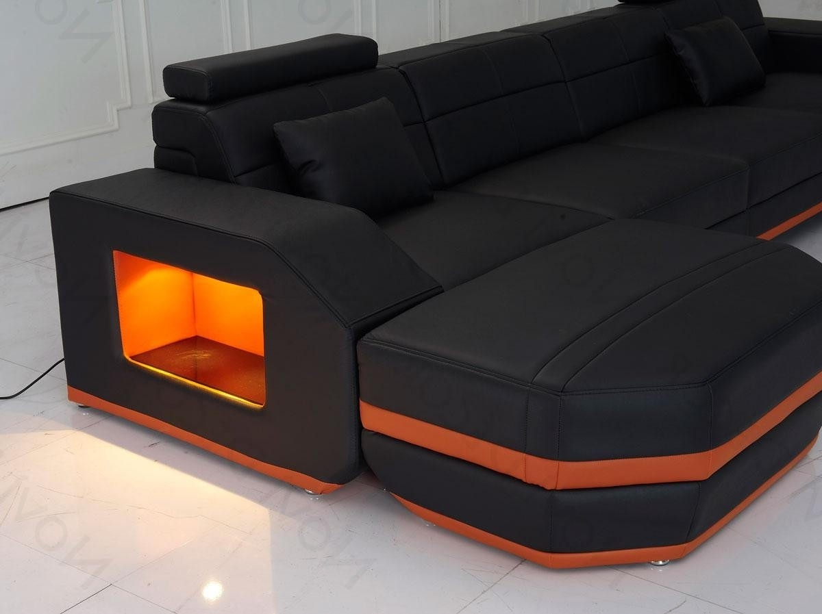 Unique Sectional Sofas intended for Well-liked Awesome Couch Gallery Also Unique Sectional Sofas Images Top Cool