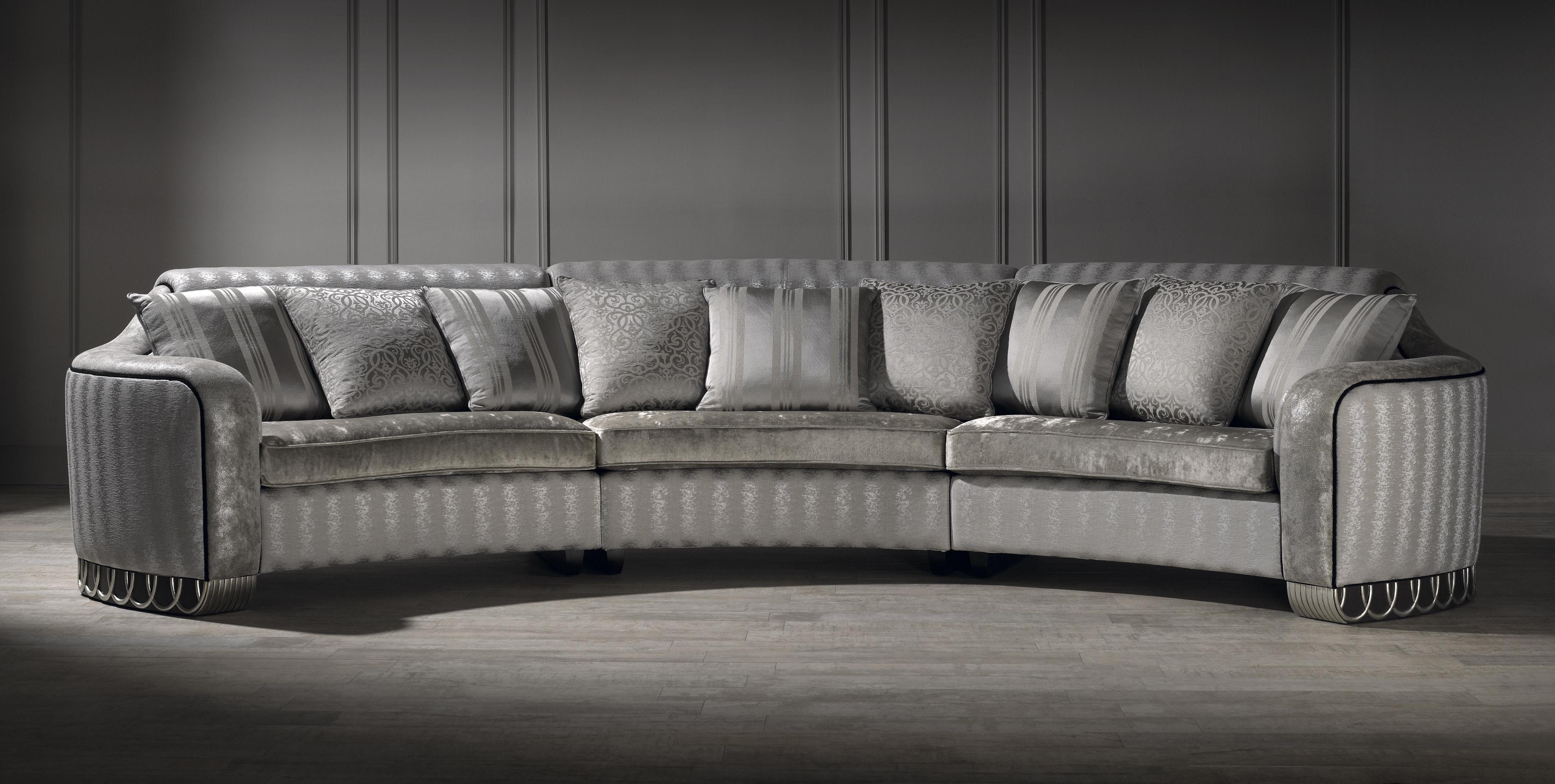 Unusual Sofas Regarding Most Popular Silver Curved Sofa, Luxury Curved Sofa, Unusual Sofa, Large Sofa (View 3 of 15)