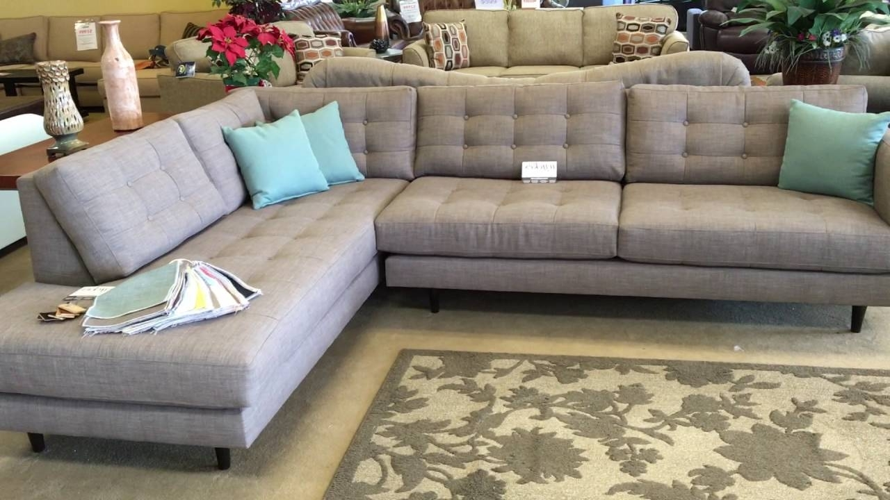 Urban Innovationwyckes Oliver Mid Century Modern Custom With Most Up To Date Customizable Sectional Sofas (View 14 of 15)