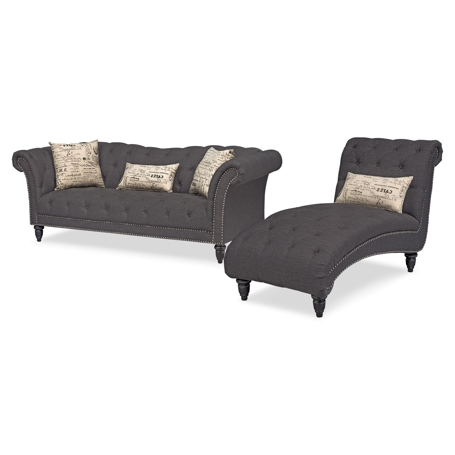 Value City Furniture And Inside Sofa Loveseat And Chaise Sets (View 13 of 15)