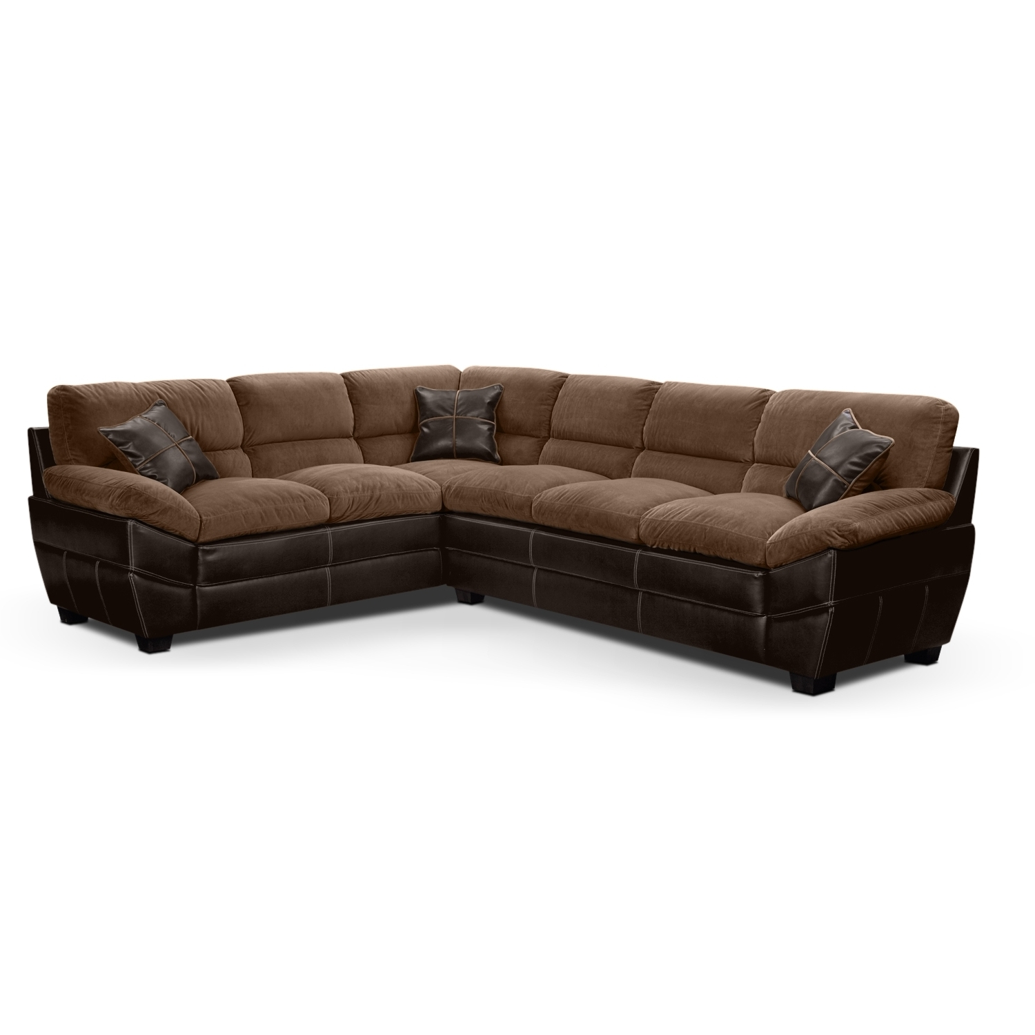 Value City Sectional Sofas With Regard To Widely Used Value City Sectional Sofa With Regard To Best Home Furniture (View 14 of 15)