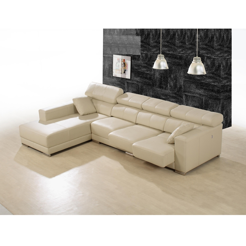 Vancouver Bc Sectional Sofas regarding Popular Enzo Leather Sectional Sofa