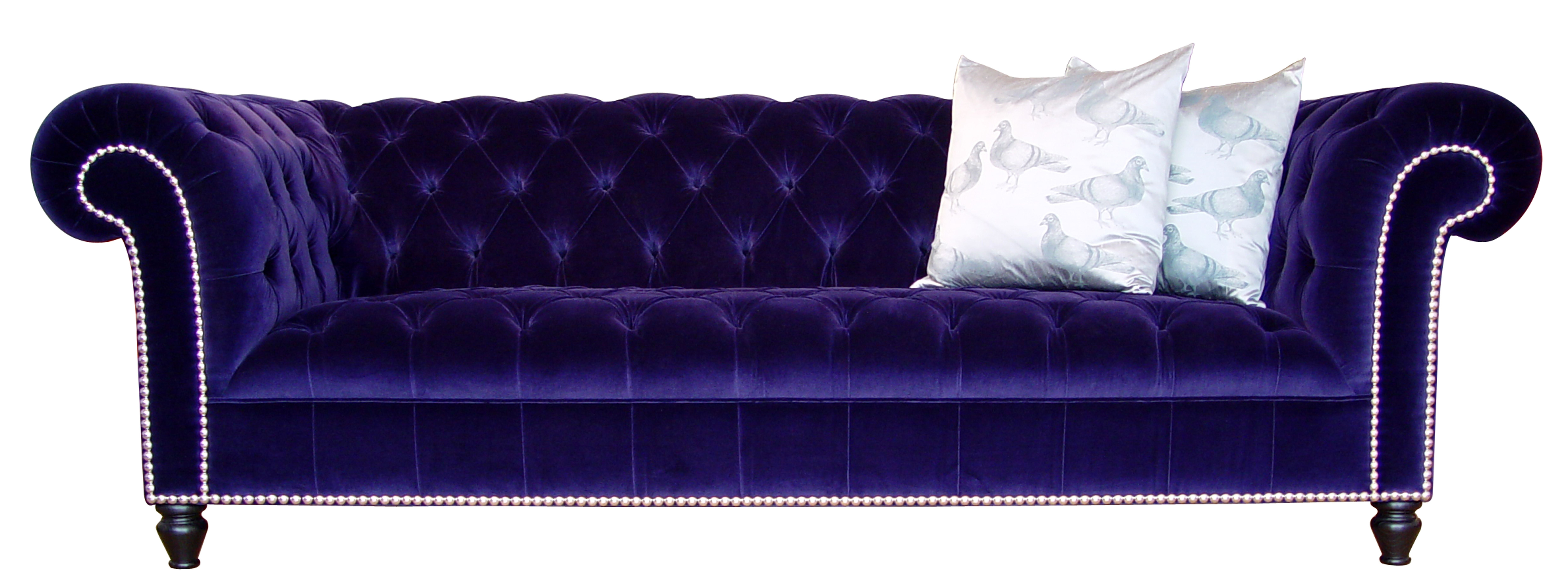 Velvet Purple Sofas intended for Current Design Classics #20: The Chesterfield Sofa