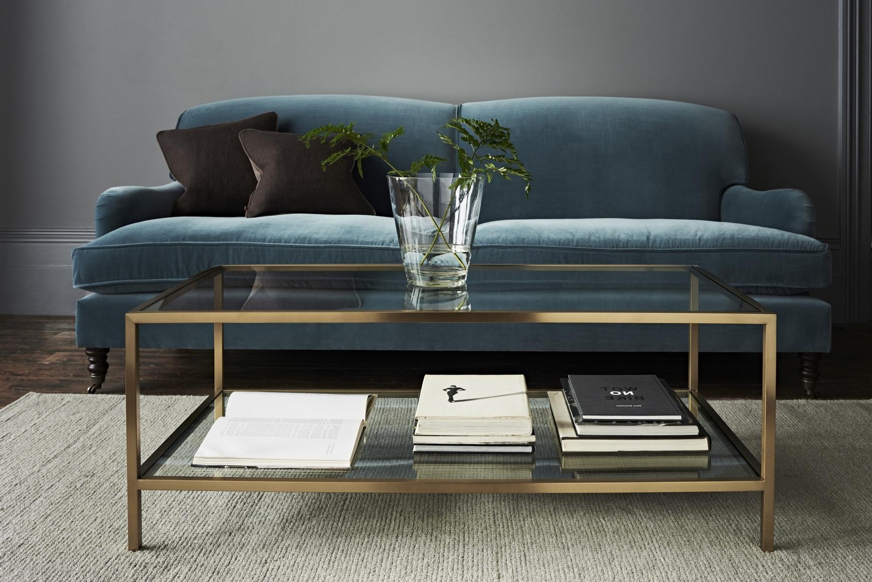 Velvet Sofas Inside Preferred Velvet Sofas: 7 Of The Latest Looks – The English Home (View 9 of 15)