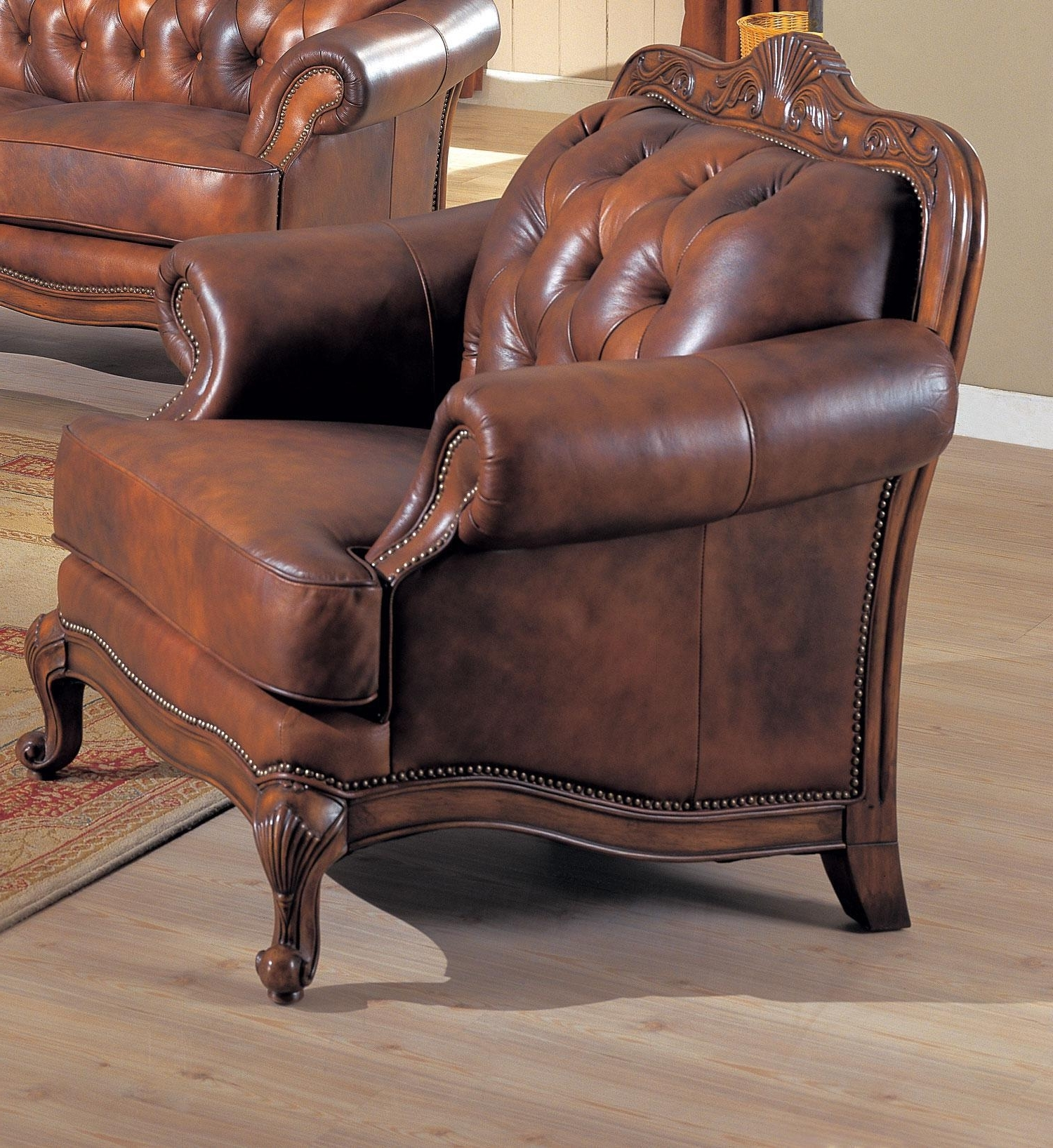 Victoria Sofa 500681 Coaster Furniture Leather Sofas At Comfyco within Popular Victorian Leather Sofas